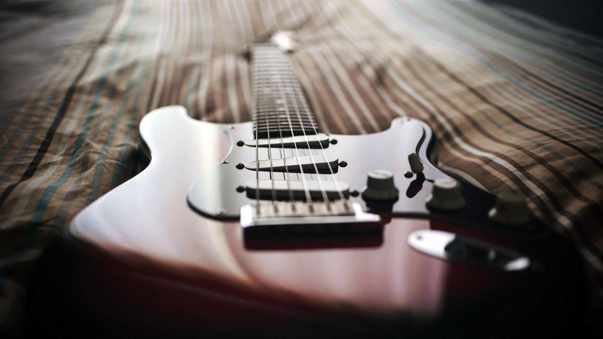 Electric Guitar, Background Wallpaper