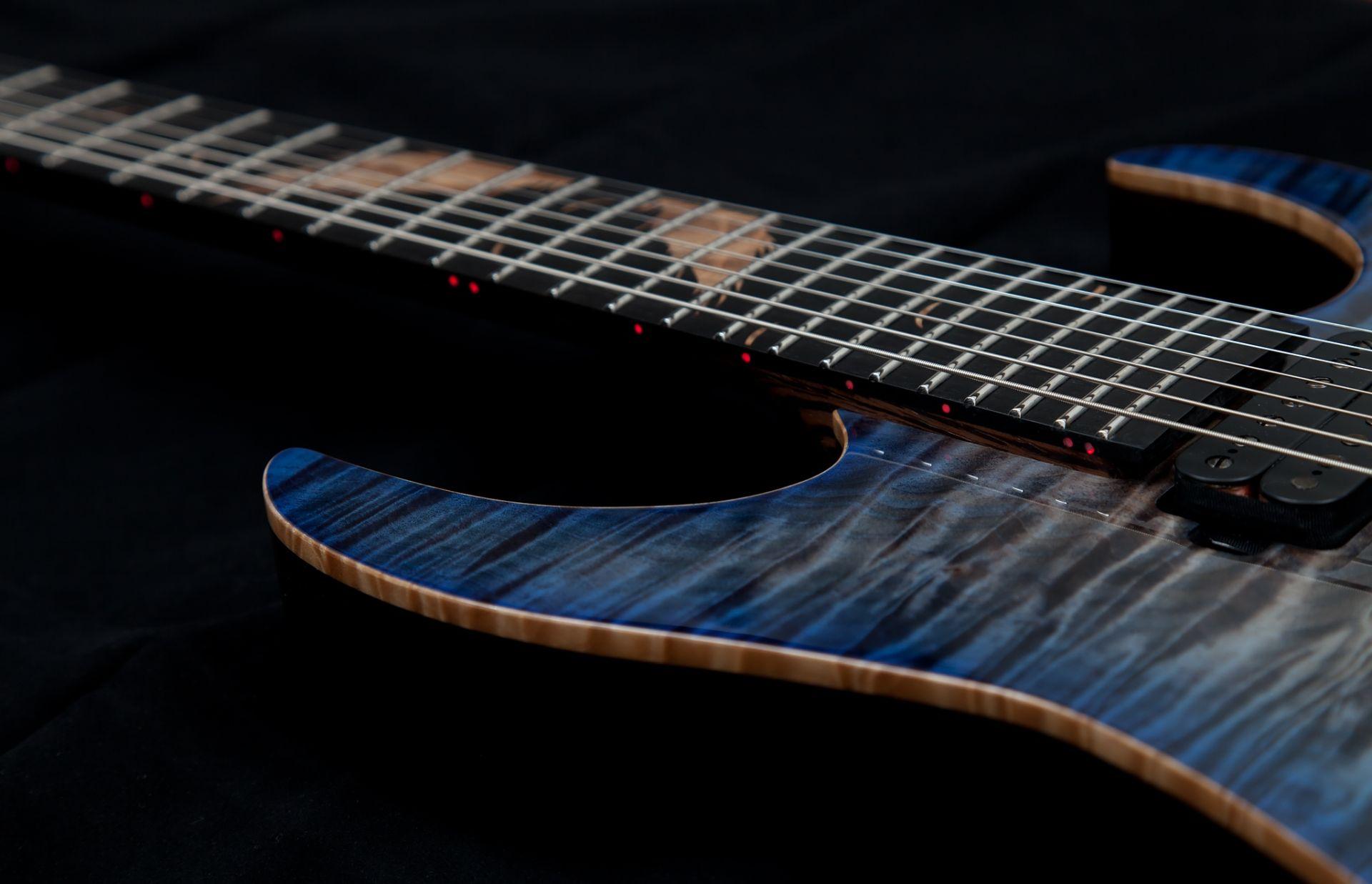 Electric Guitar blue, Cool Wallpaper