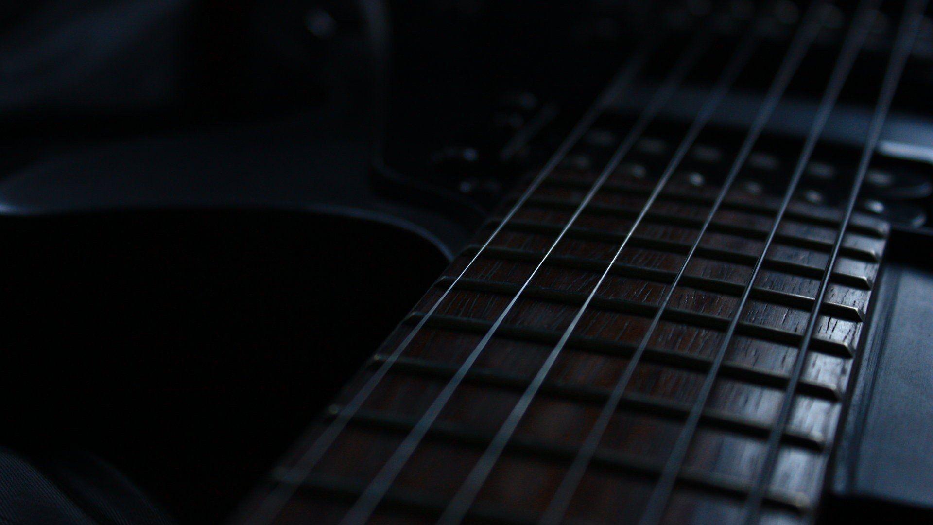 Electric Guitar strings, Computer Wallpaper