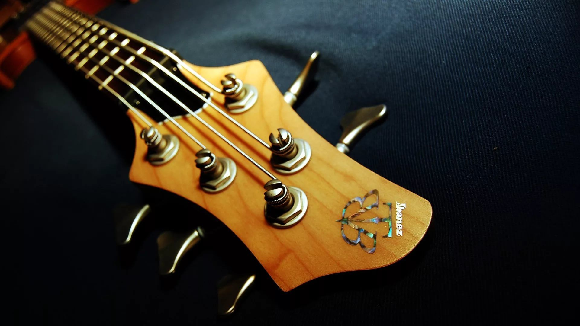 Electric Guitar strings, Wallpaper and Background