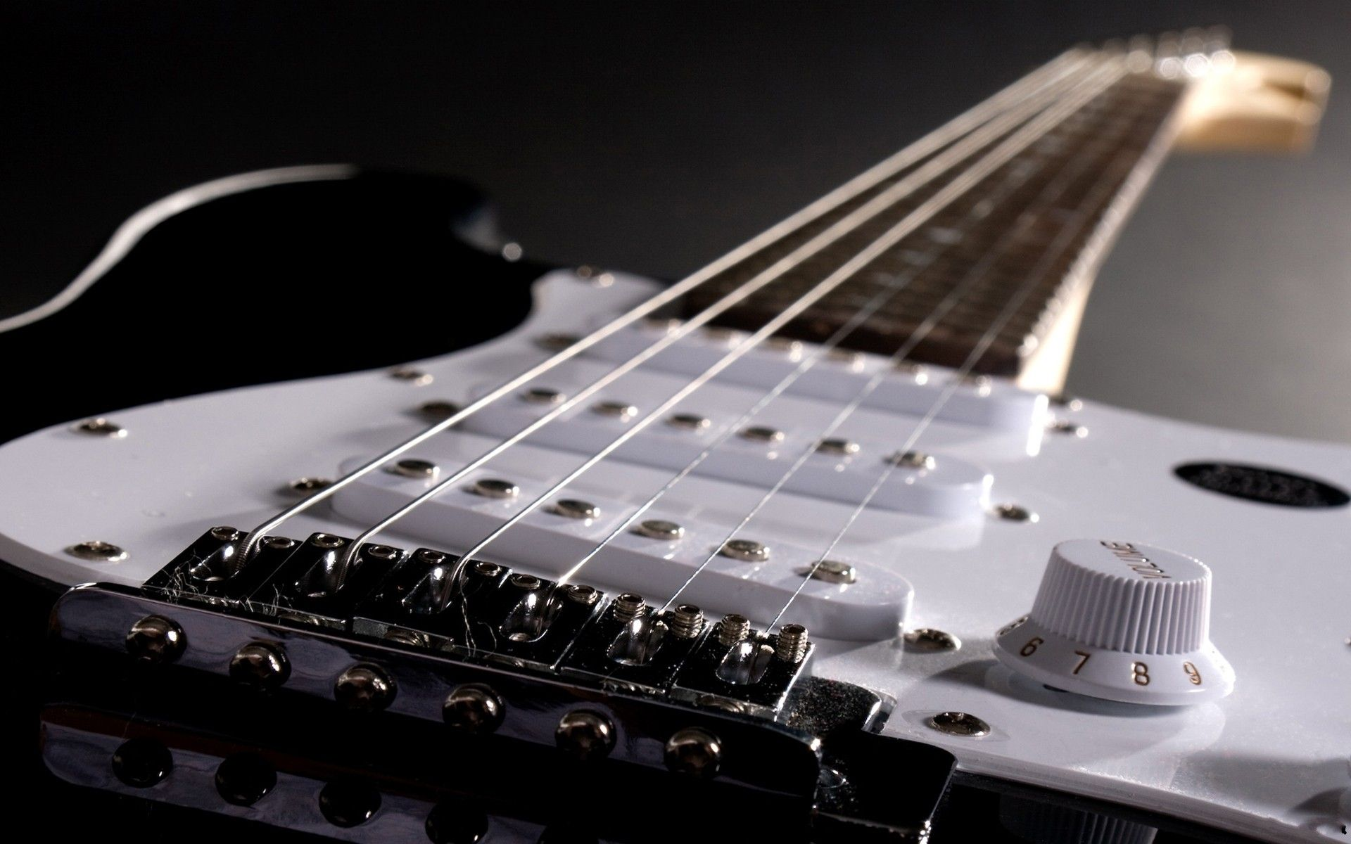 Electric Guitar strings, Wallpaper Theme
