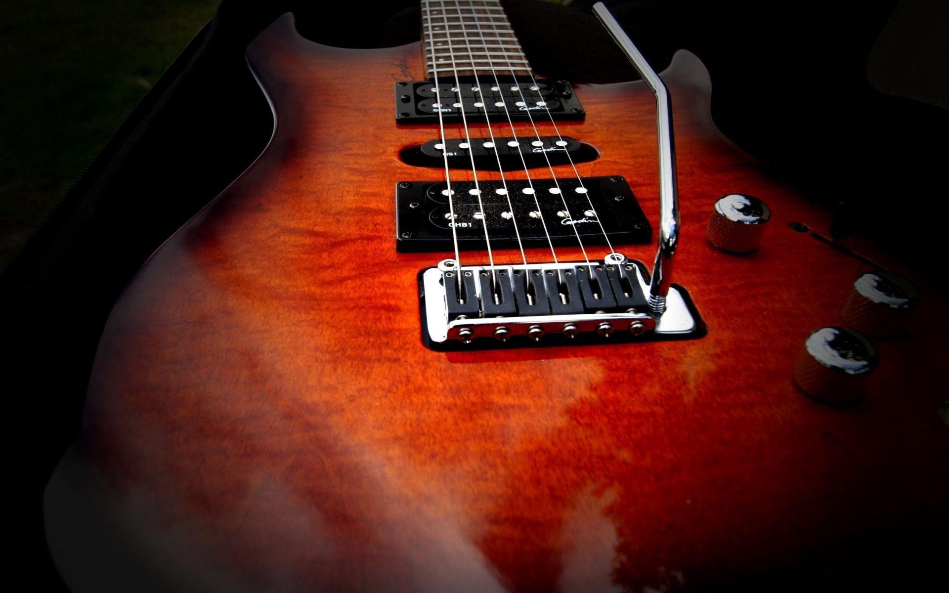 Electric Guitar wood, Free Download Wallpaper