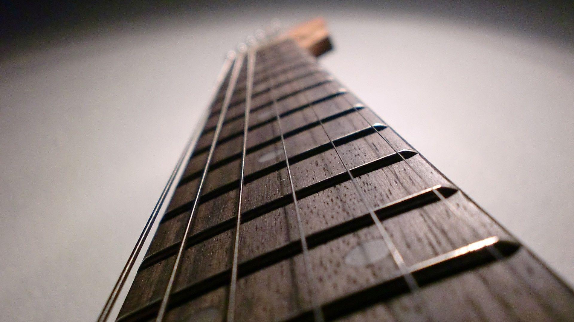 Electric Guitar strings, Full HD Wallpaper