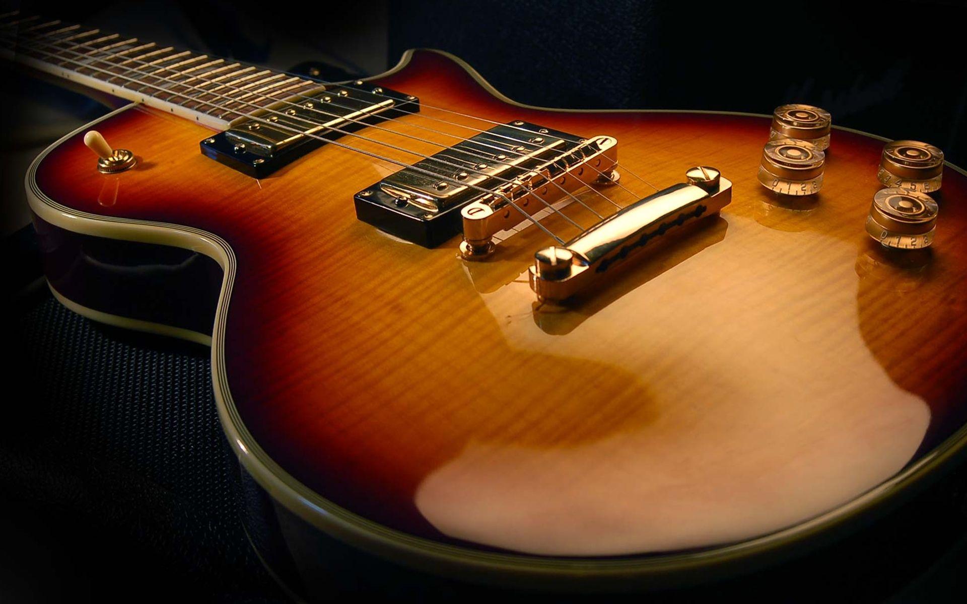 Electric Guitar wood, Full HD Wallpaper