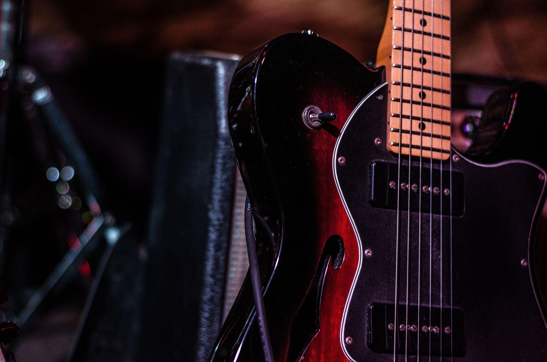 Electric Guitar, Cool Wallpaper