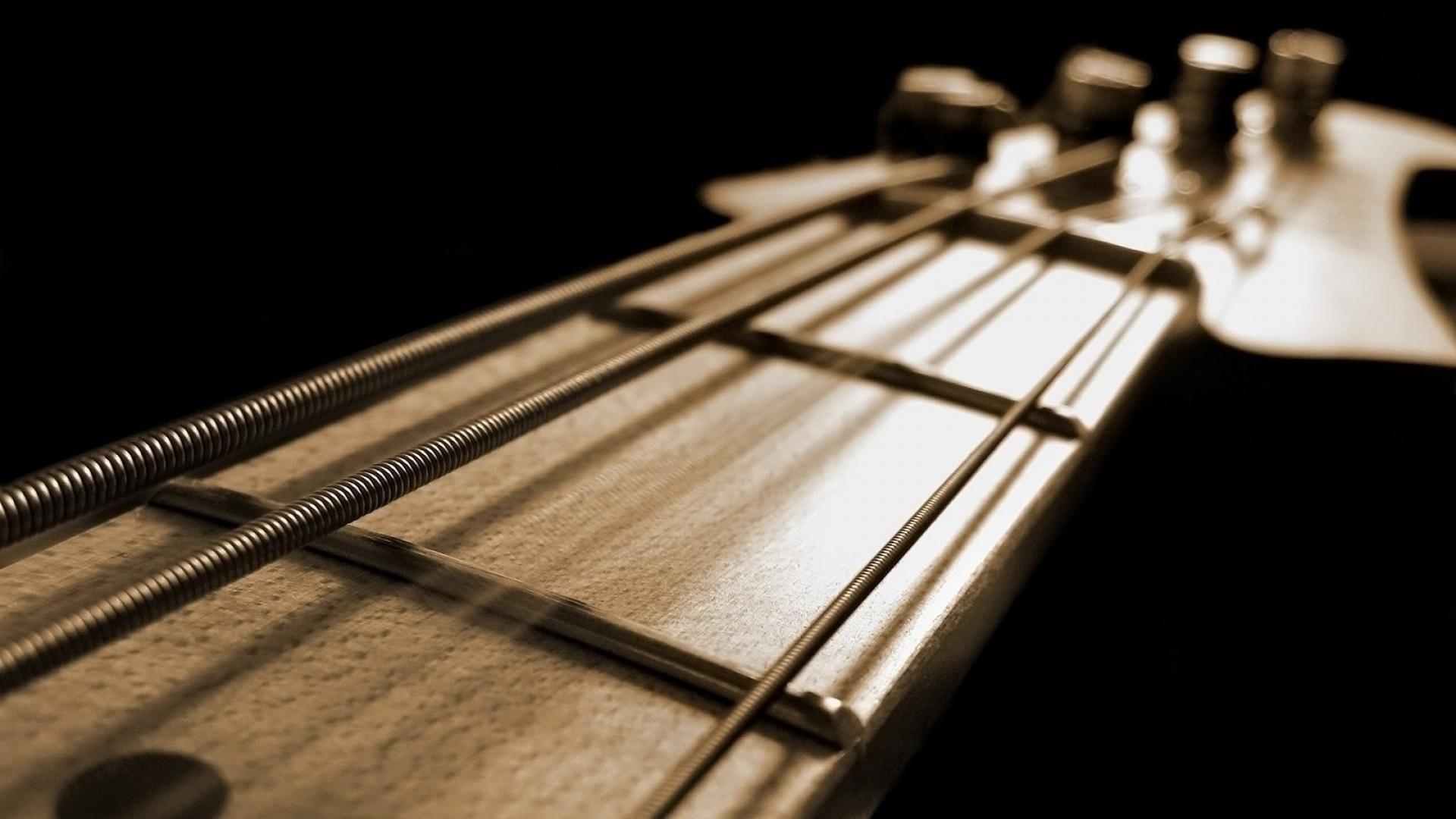 Electric Guitar strings, Free Wallpaper