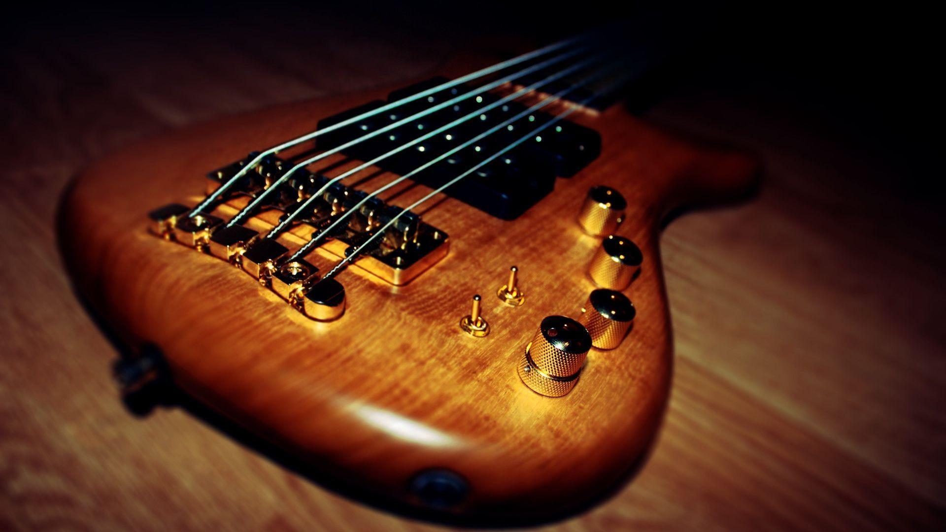 Electric Guitar strings, 1080p Wallpaper