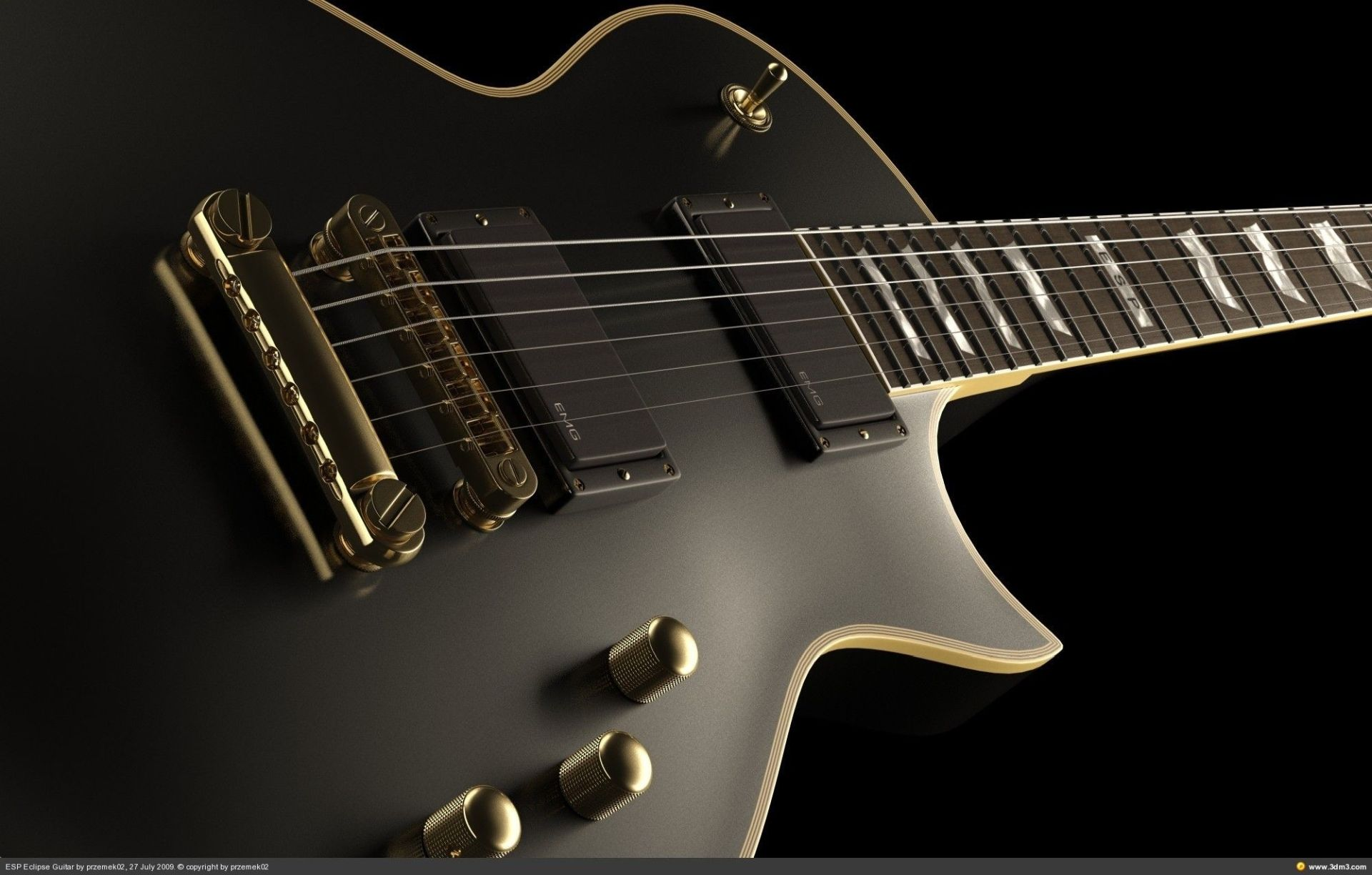 Electric Guitar, Wallpaper Picture