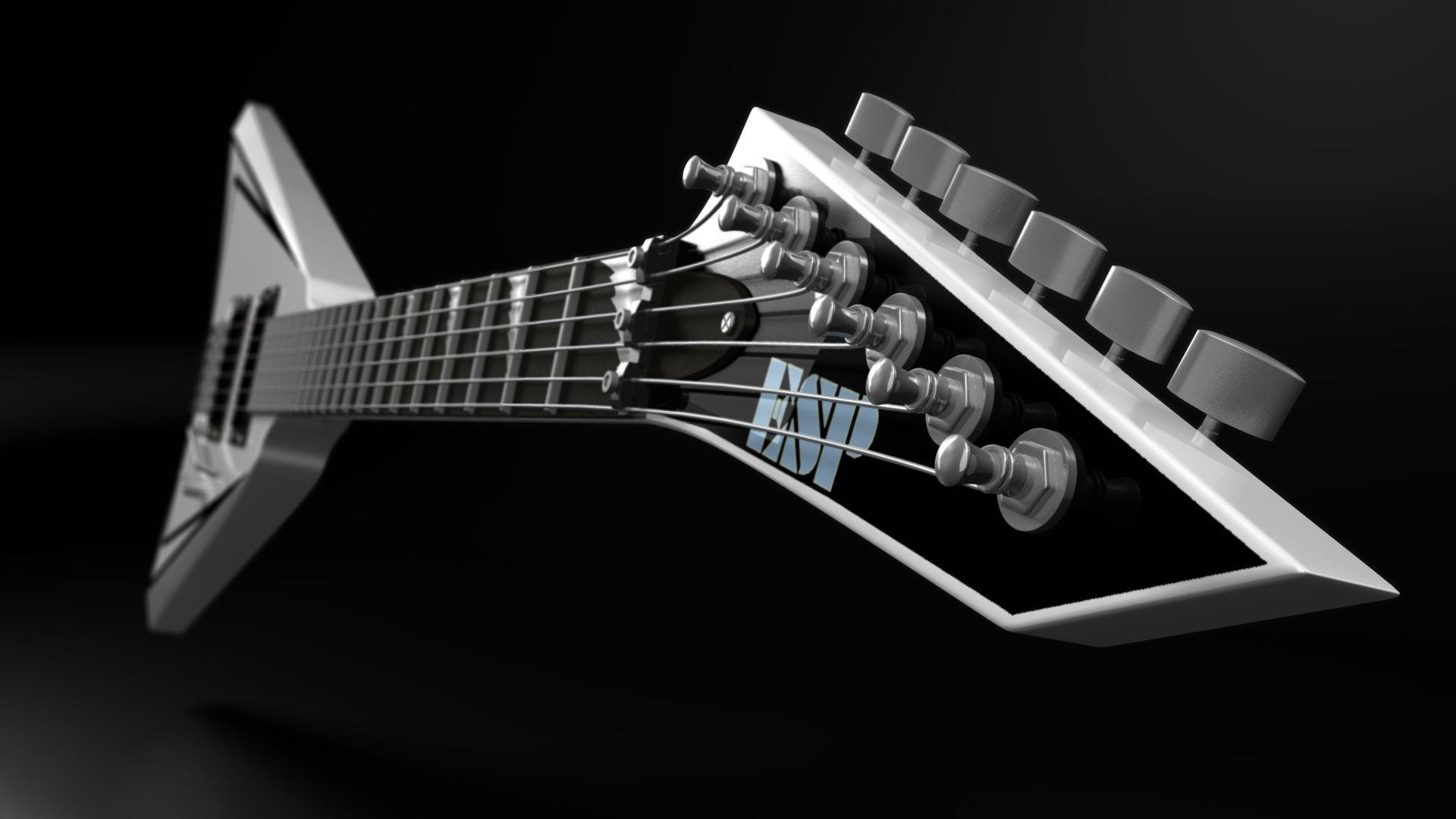 Electric Guitar, HD Desktop Wallpaper
