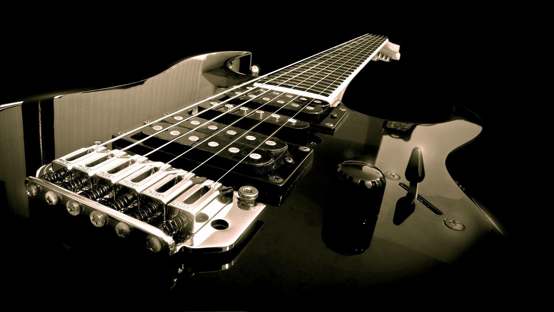 Electric Guitar strings, Cool Wallpaper