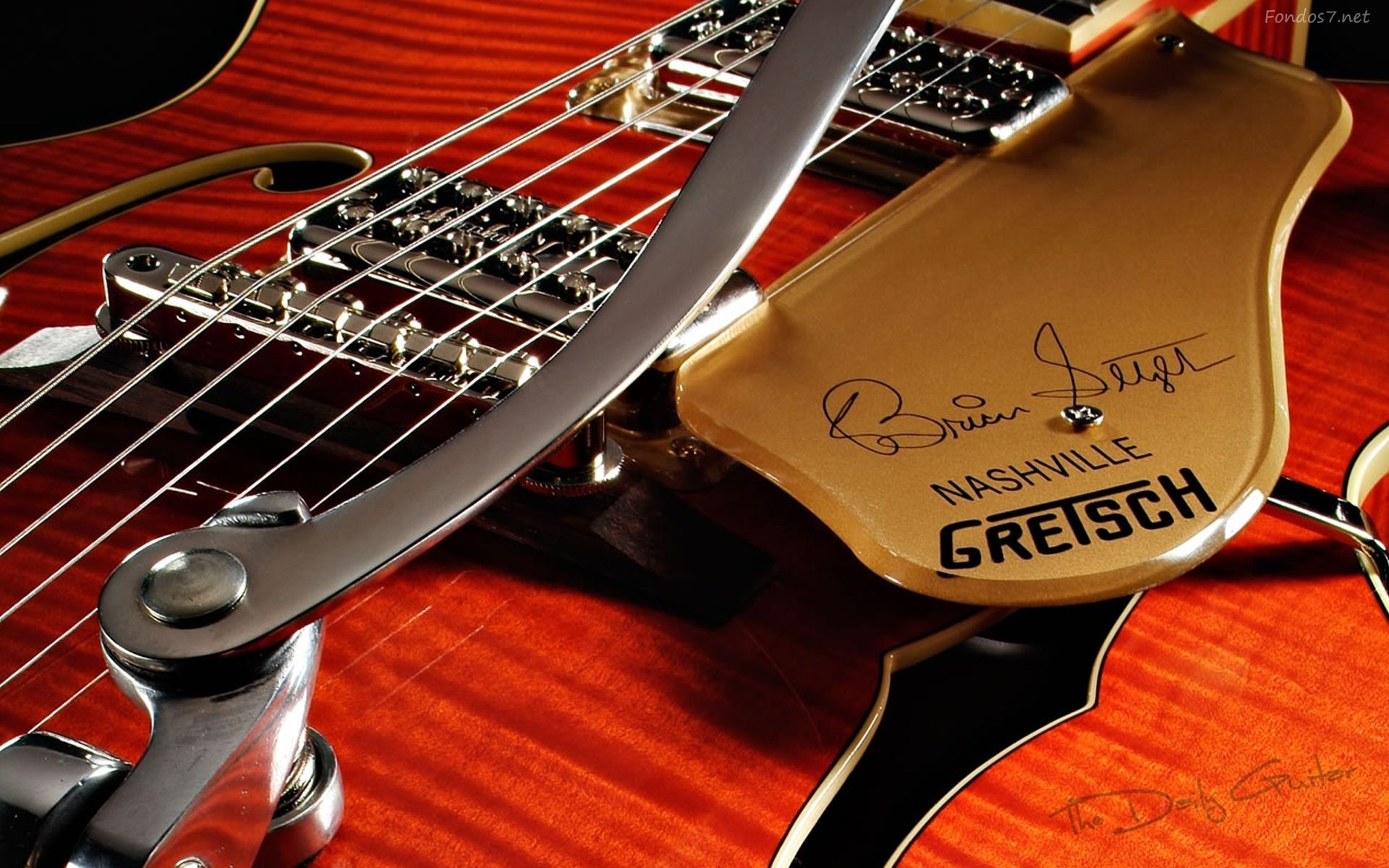 Fender Guitar, Full HD Wallpaper