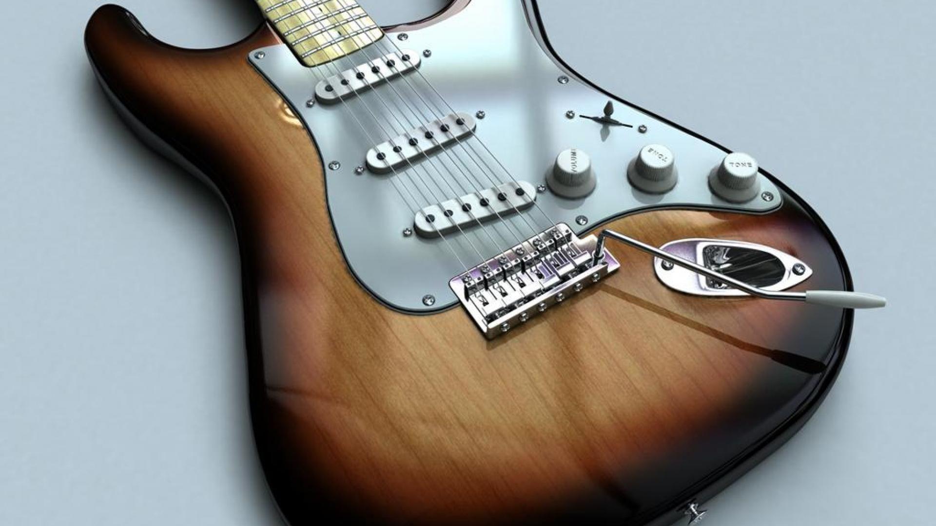 Fender Guitar, PC Wallpaper