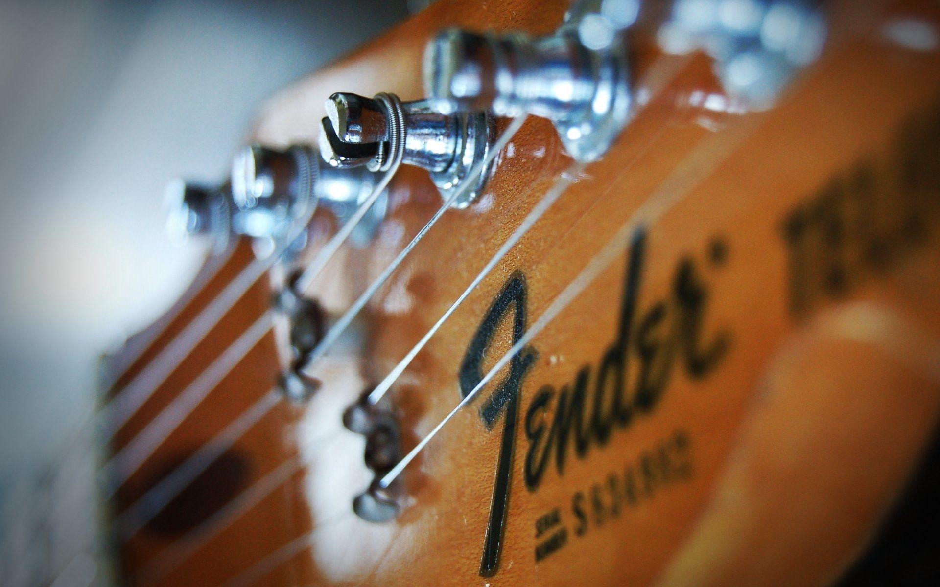 Fender Guitar, Download Wallpaper