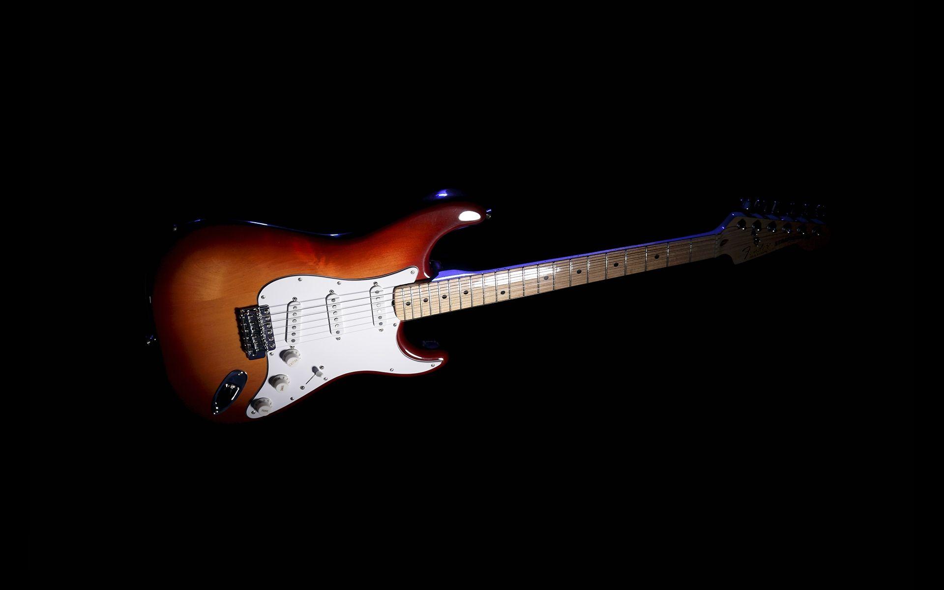 Fender Guitar, Wallpaper Image