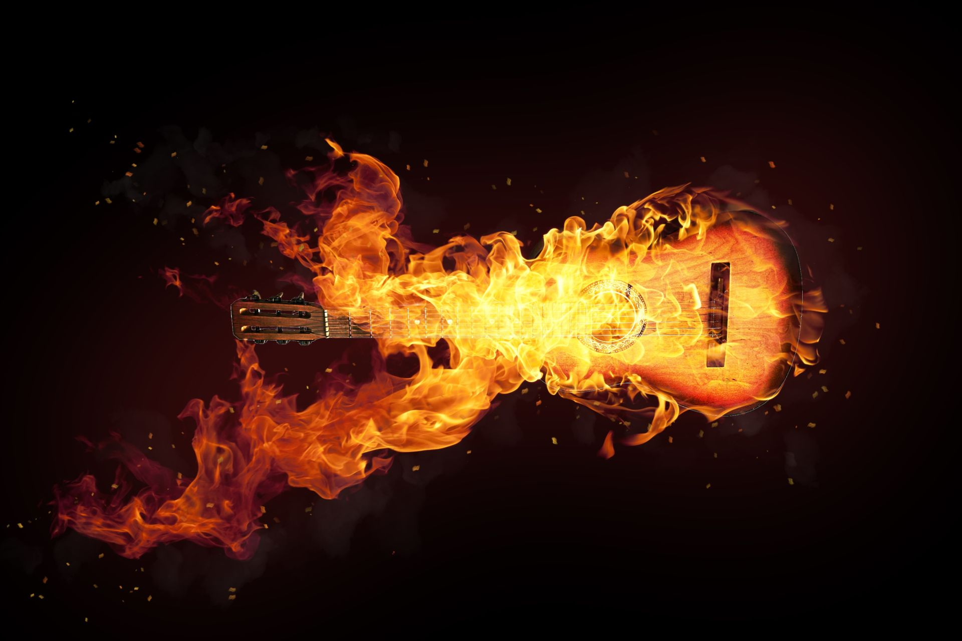 Fire Guitar, Background