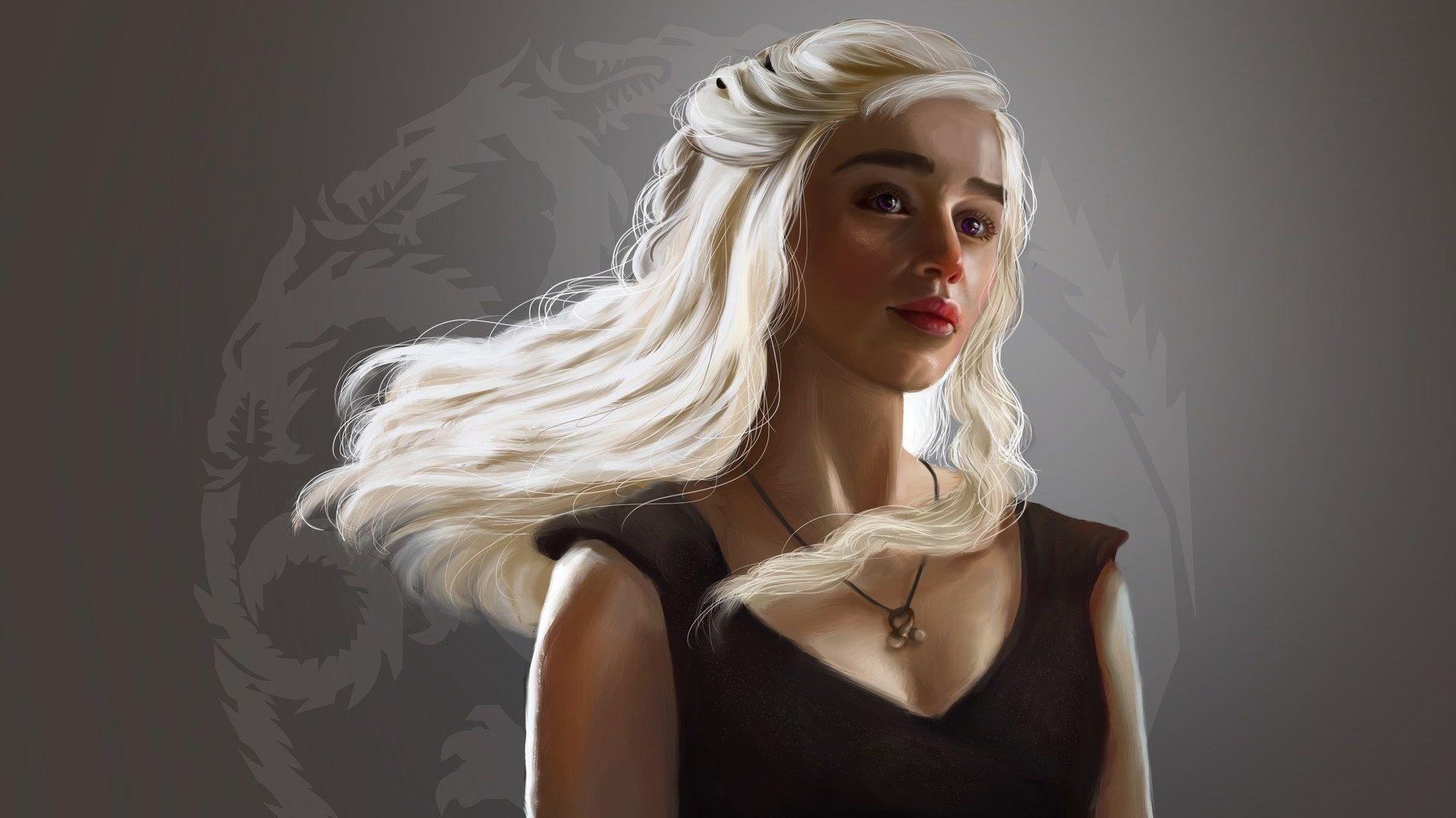 Game of Thrones Daenerys art