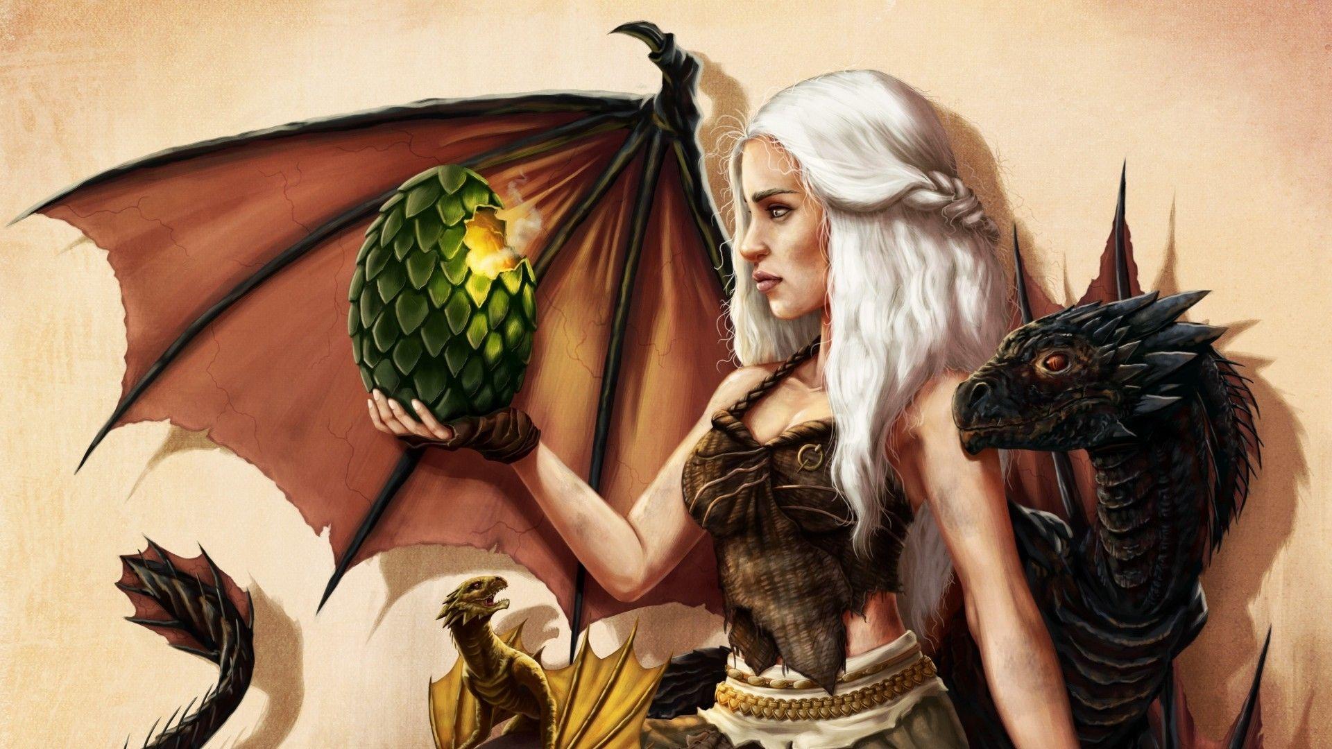Game of Thrones Daenerys fanart