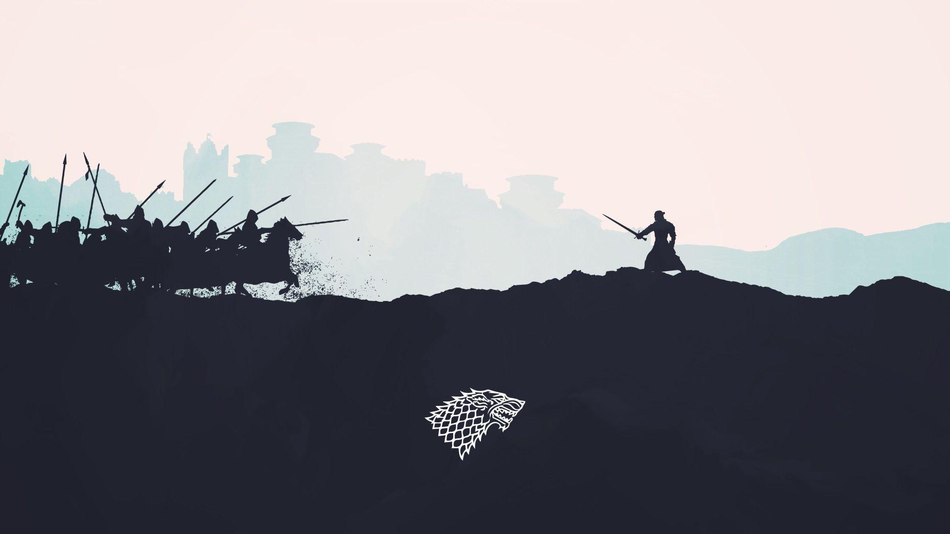 Game of Thrones minimal art