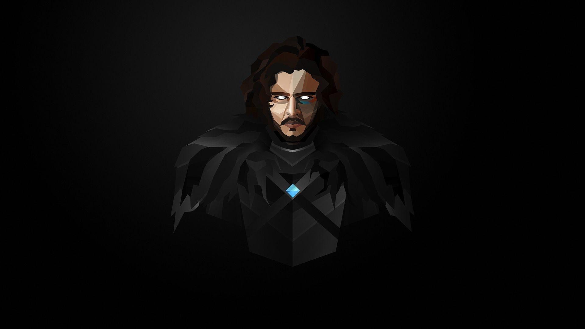 Game of Thrones Jon Snow dark