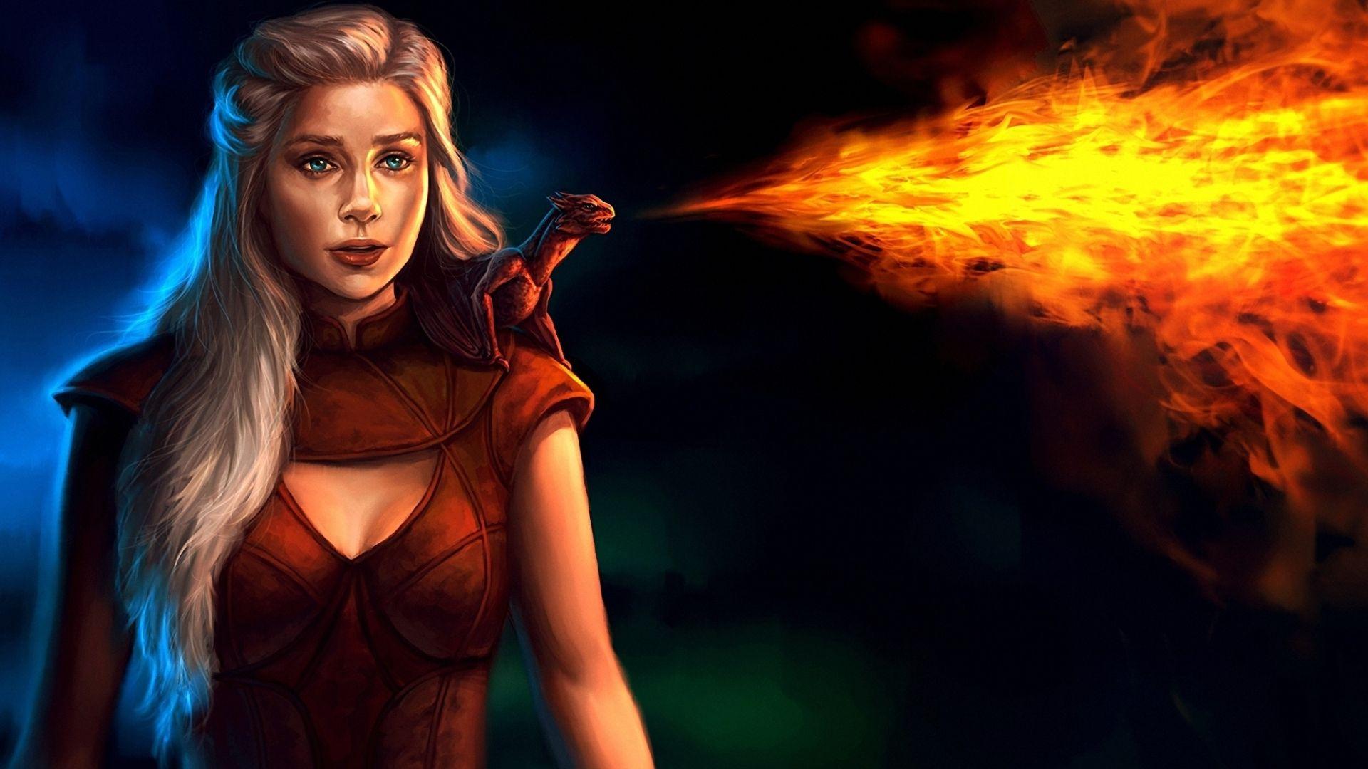 Game of Thrones Daenerys Targaryen fan art
