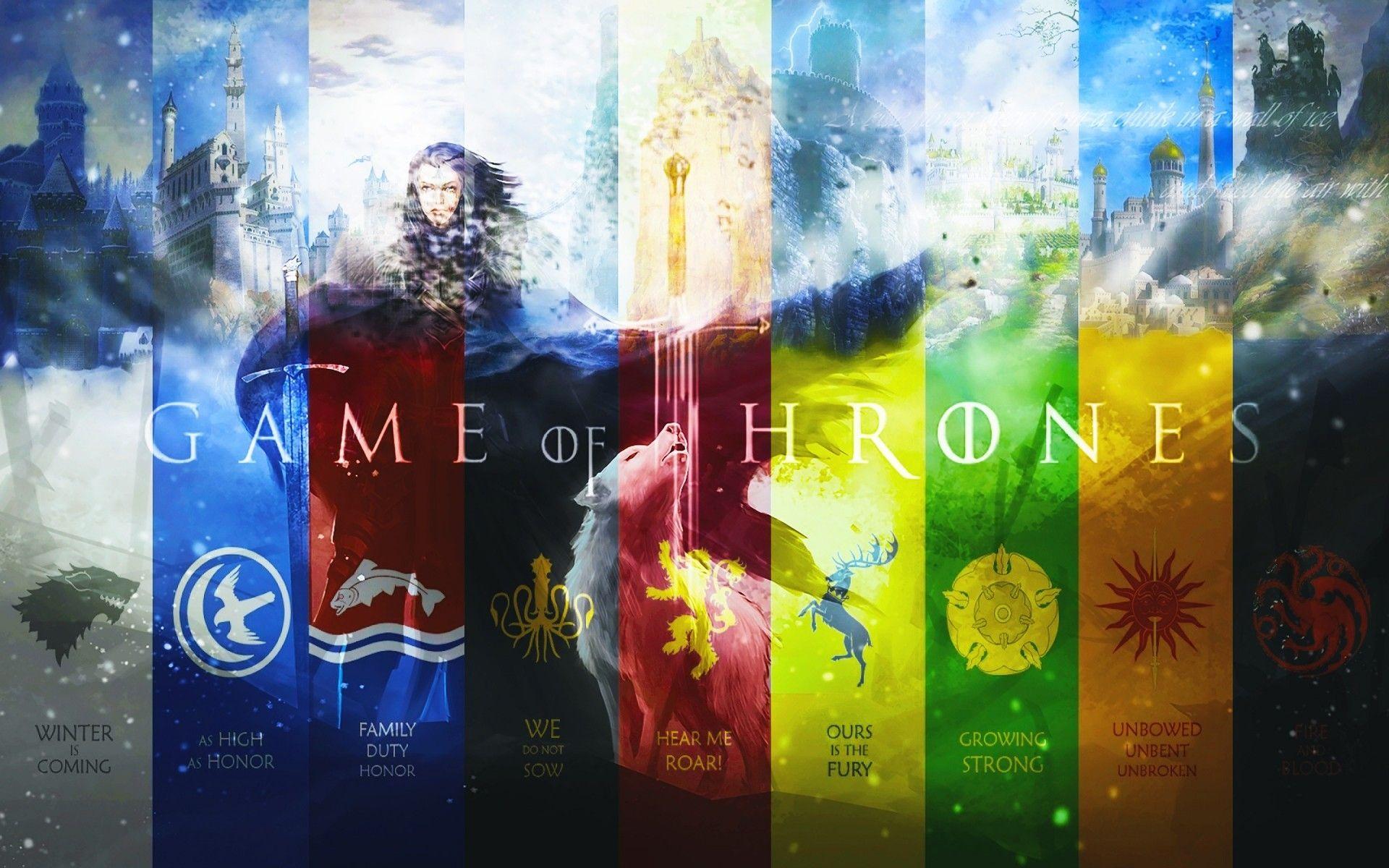 Game of Thrones gerbs art
