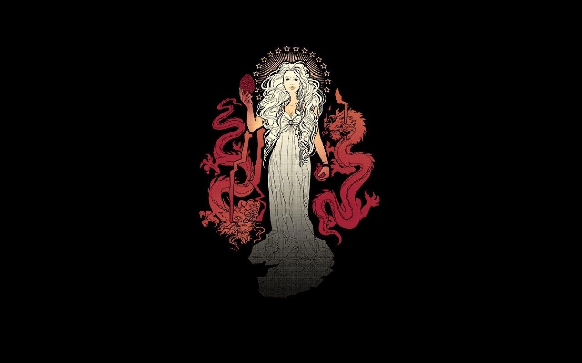 Daenerys Targaryen minimal fan art