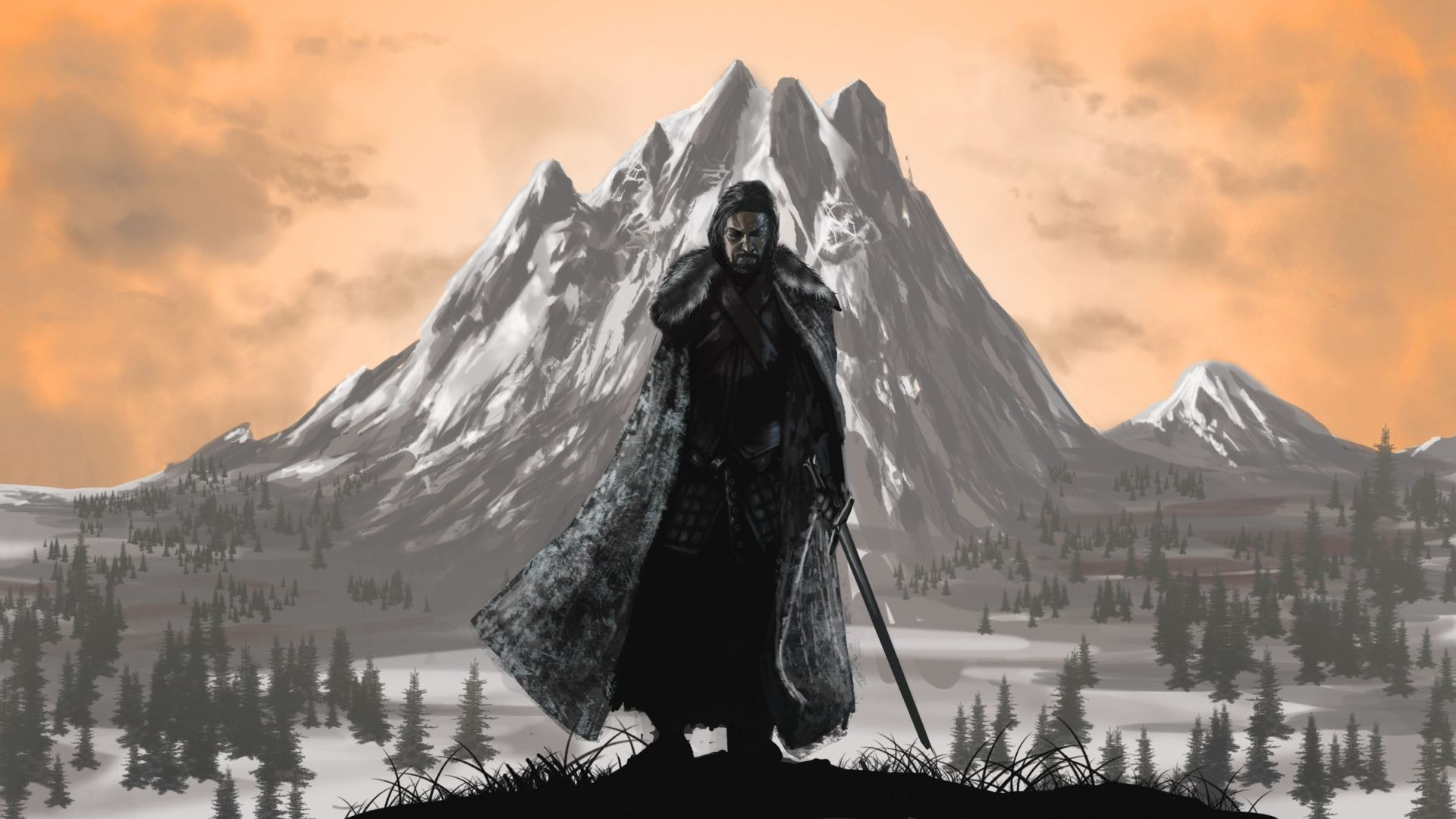 Game of Thrones Daenerys Tmountain and women fan art