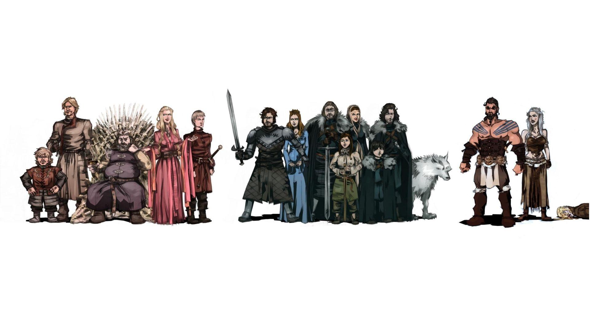Game of Thrones fan art people