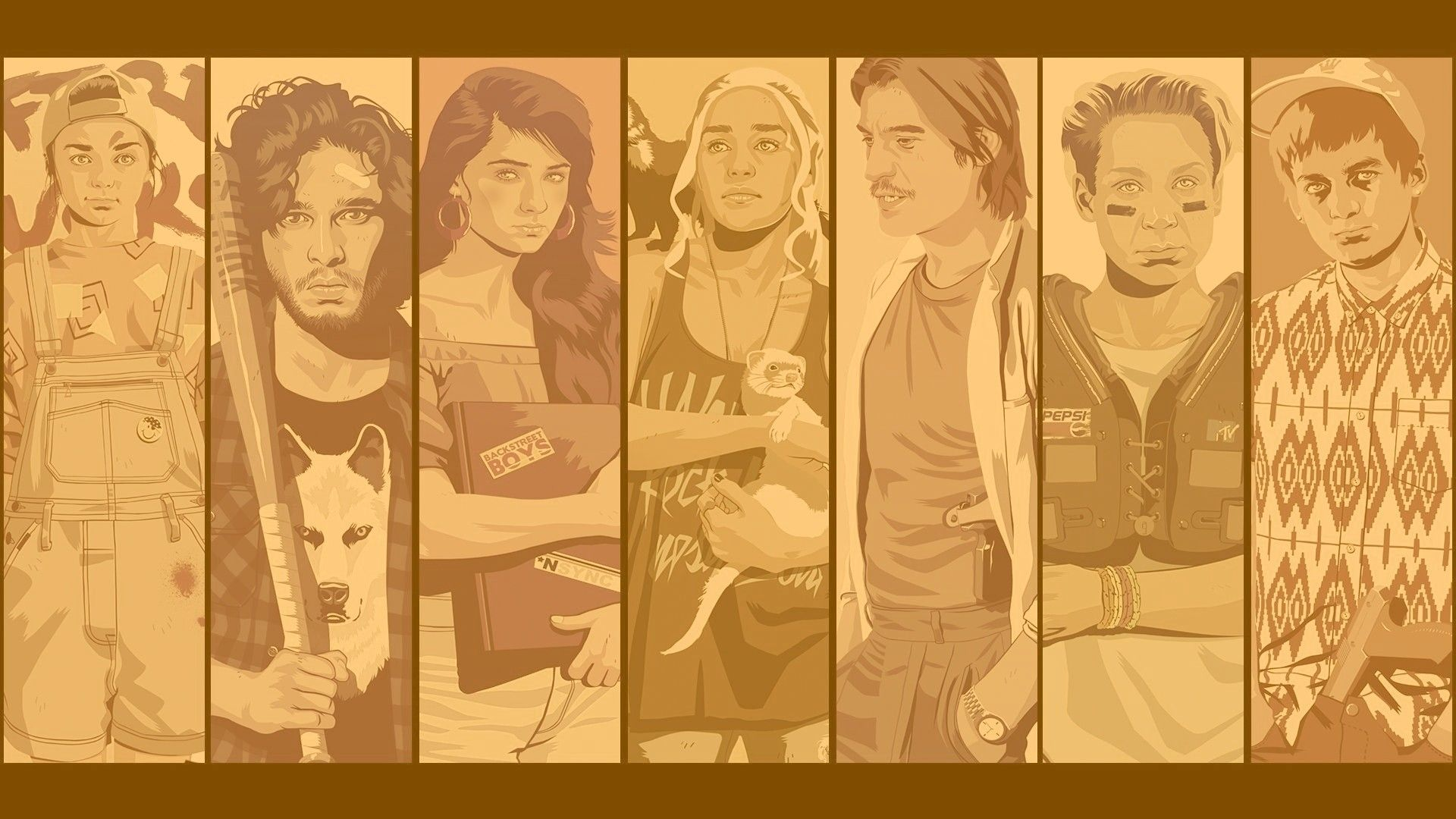 Game of Thrones cool art