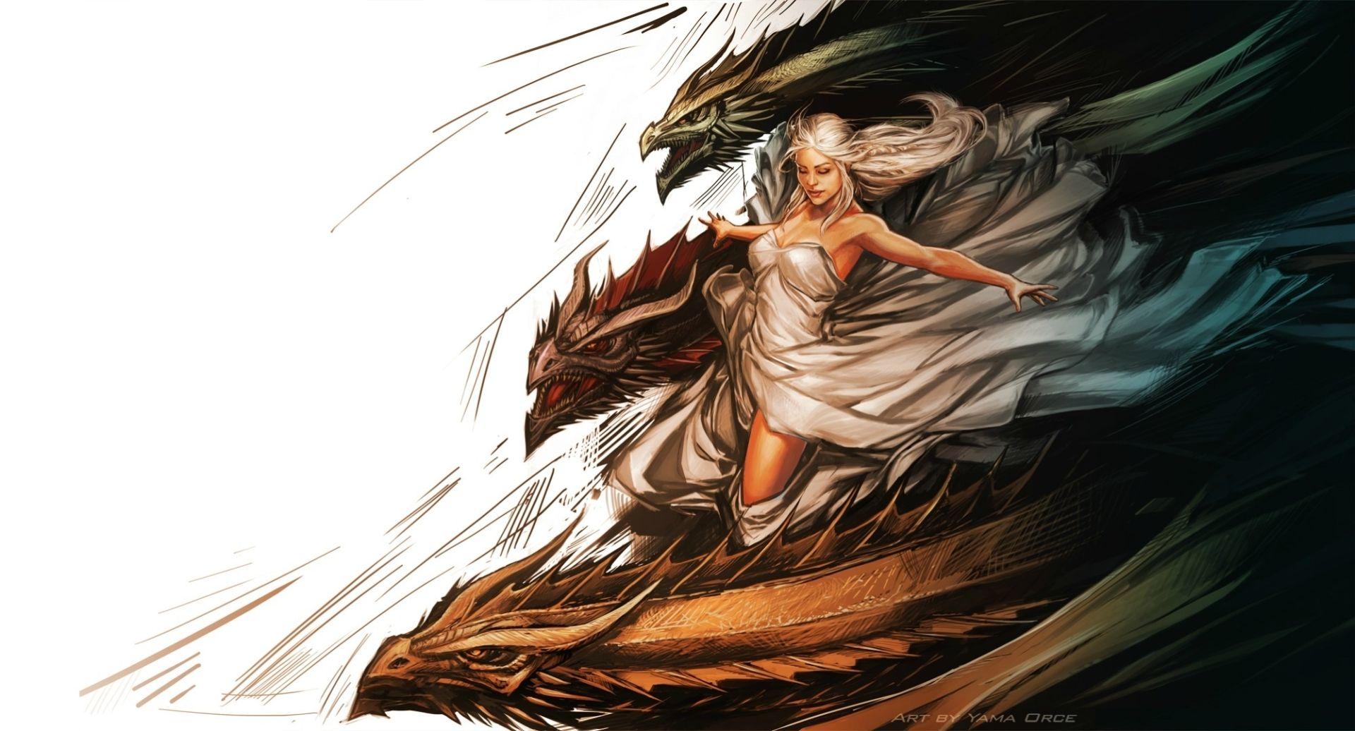 Game of Thrones Daenerys Targaryen picture art