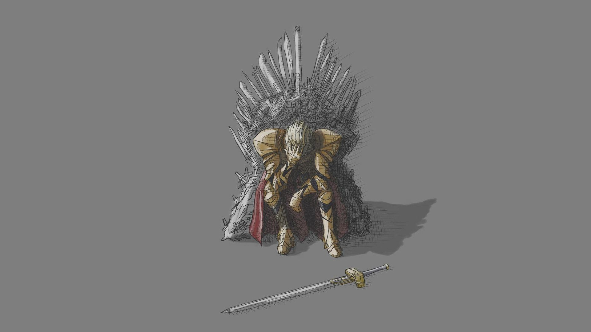 Game of Thrones grey fan art