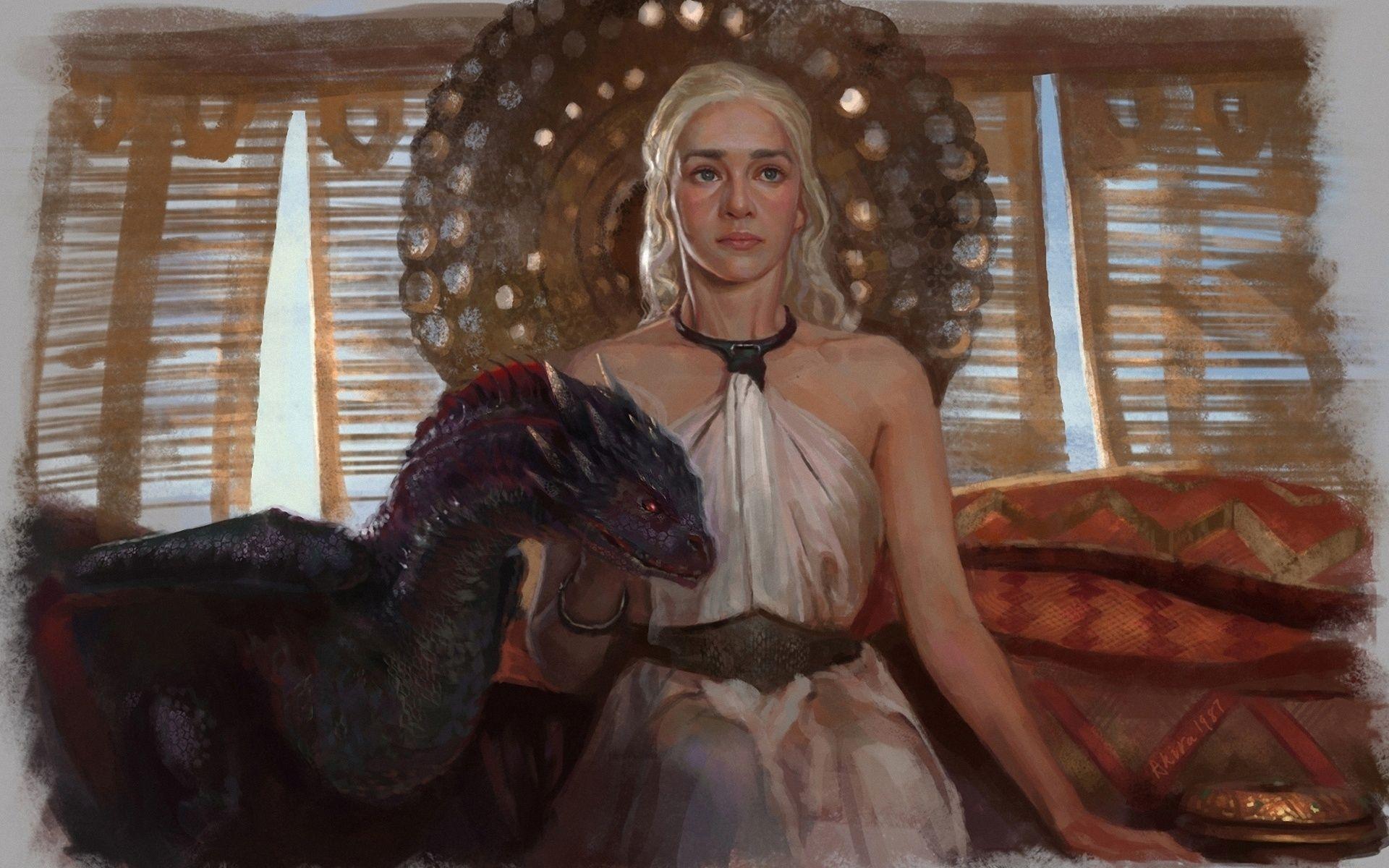 Game of Thrones Daenerys fan art