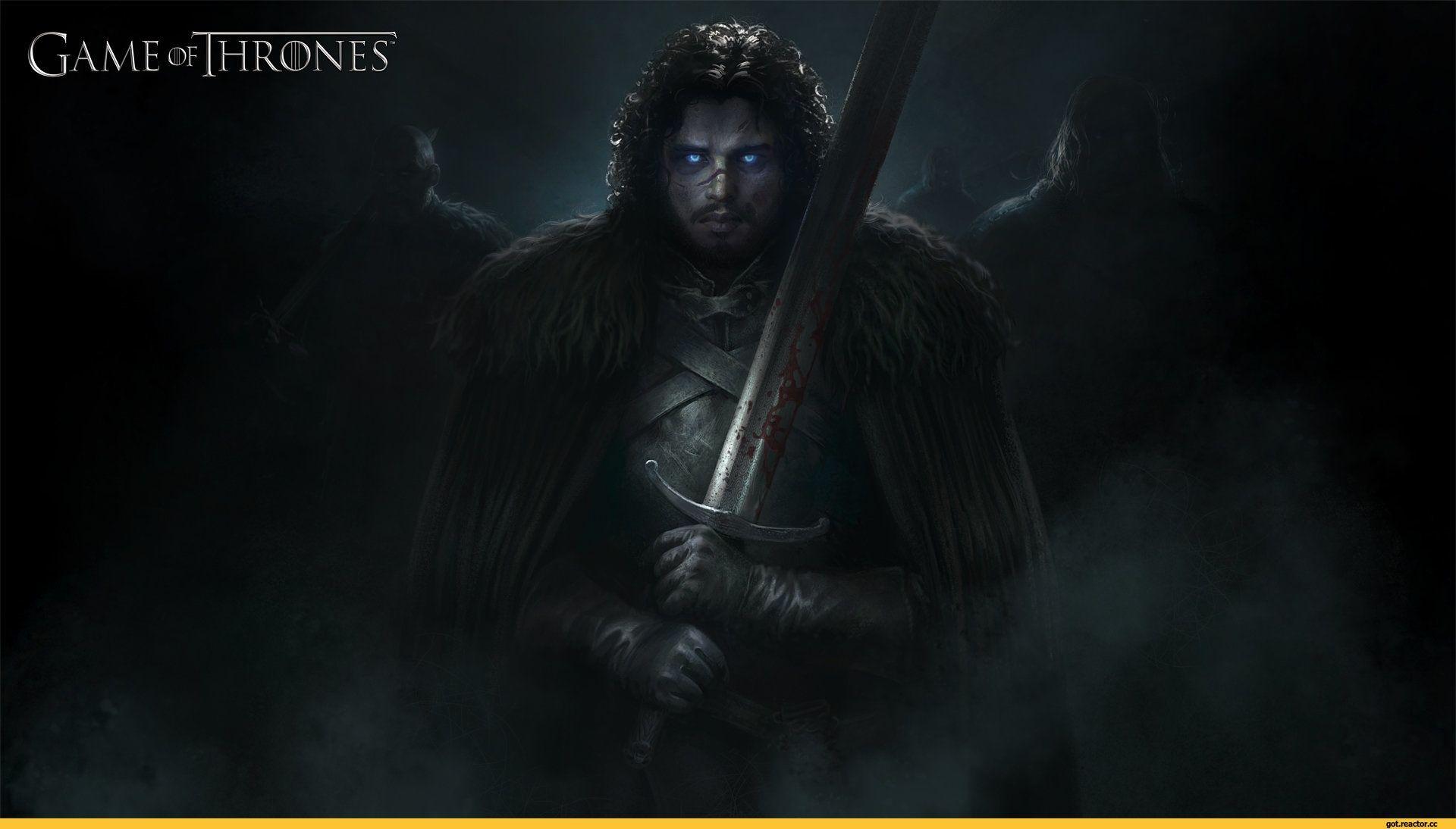 Game of Thrones Jon Snow fanart