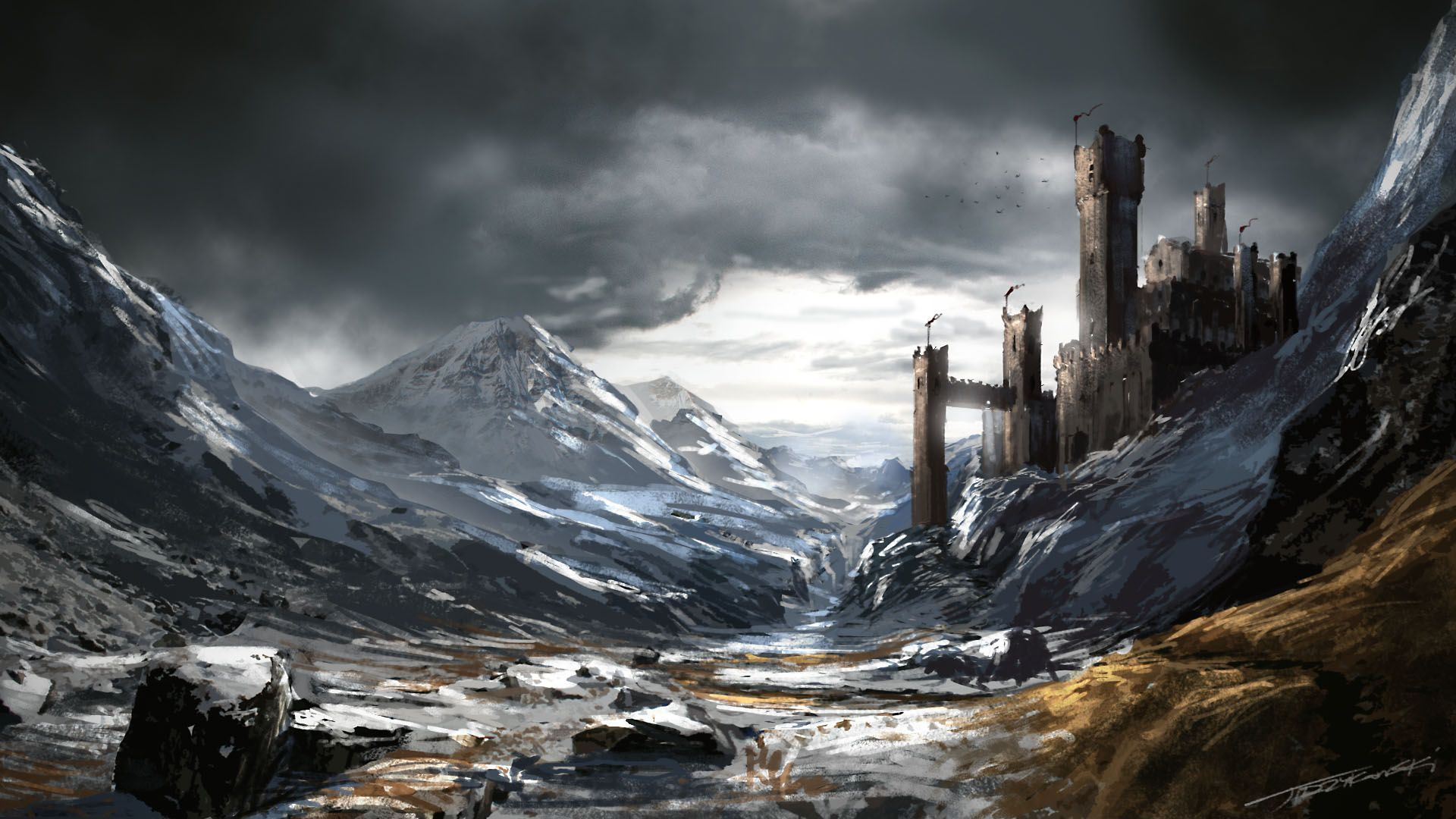 Game of Thrones Landscape fanart