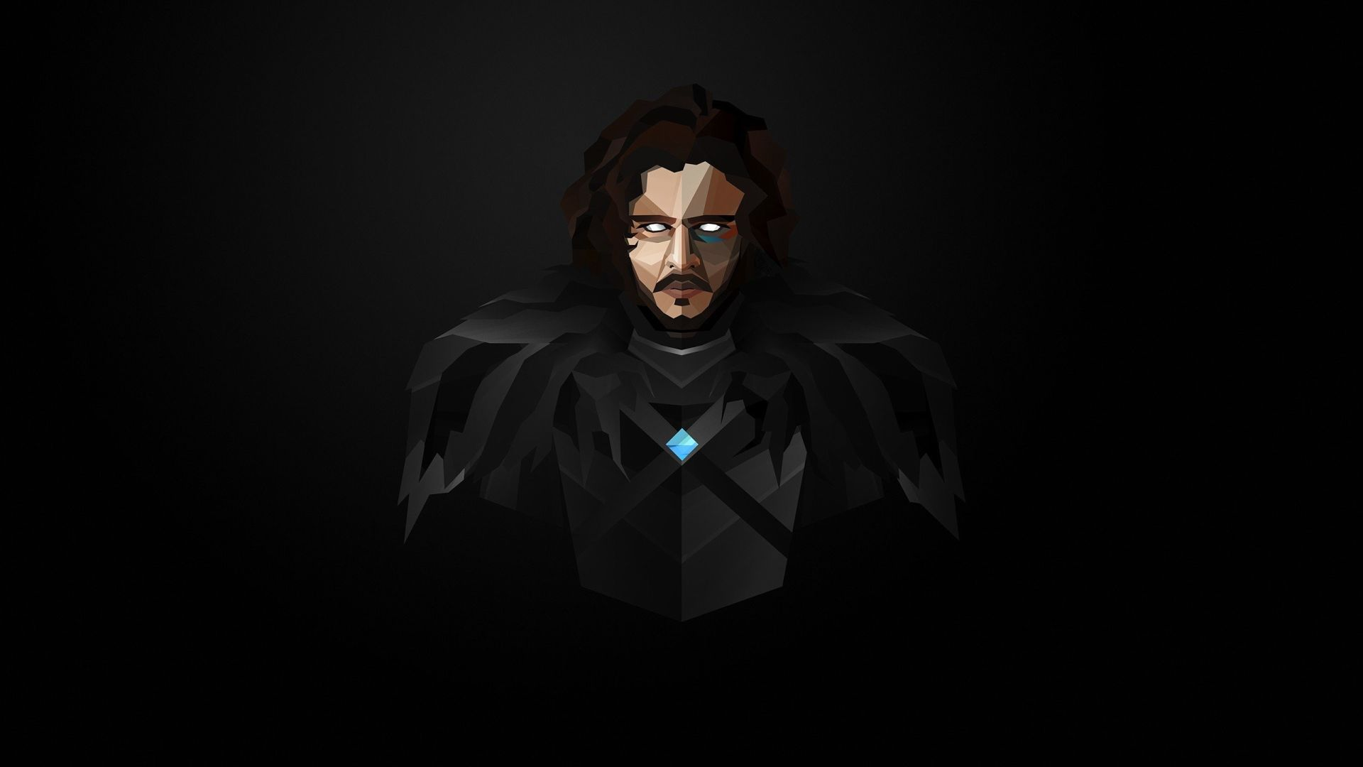 Jon Snow Game of Thrones illustration vector