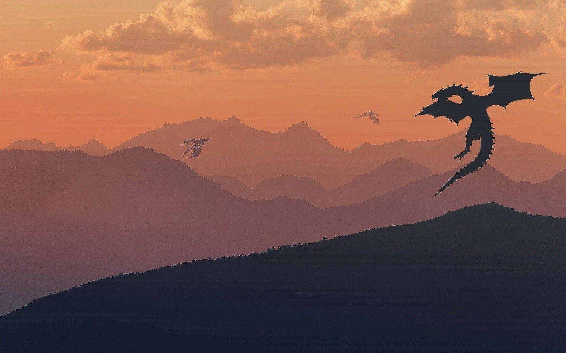 Game of Thrones landscape art minimalist