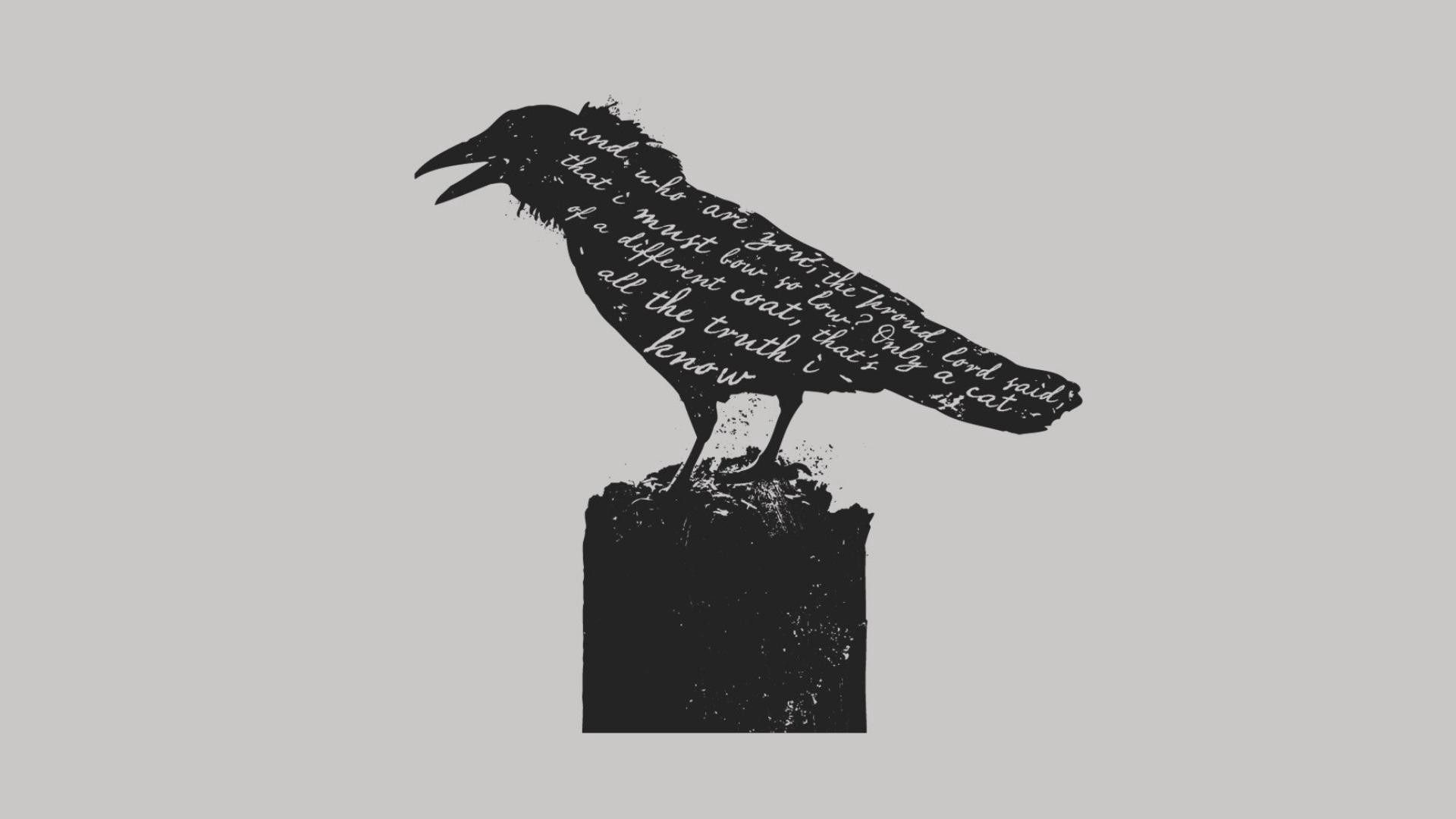 Game of Thrones Crow Minimalist