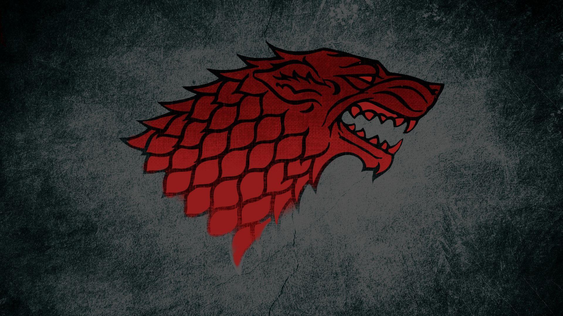 Game of Thrones House Stark Minimalist