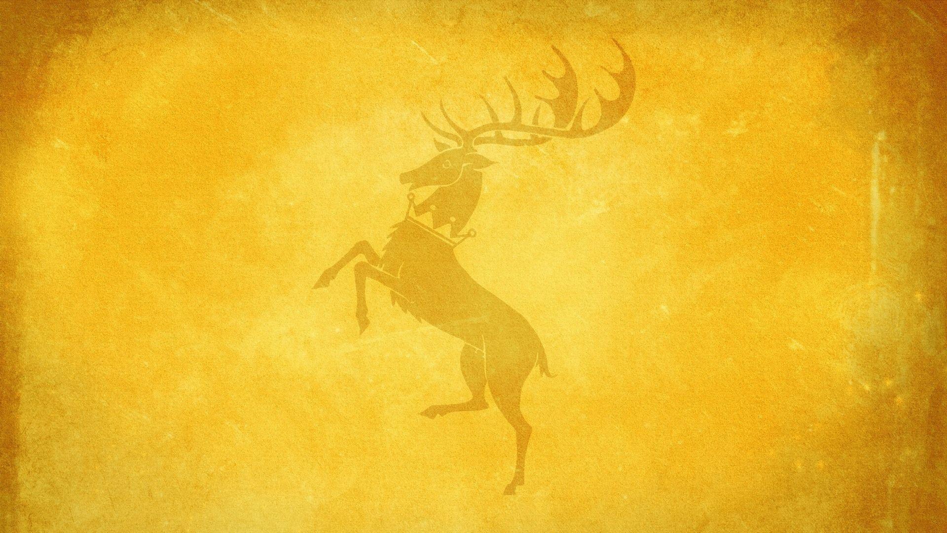 Game of Thrones House Baratheon Minimalist