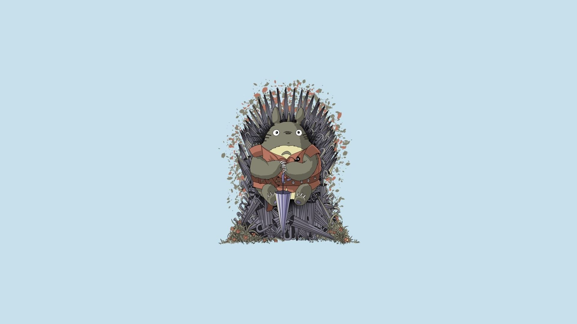 Game of Thrones Totoro Minimalist
