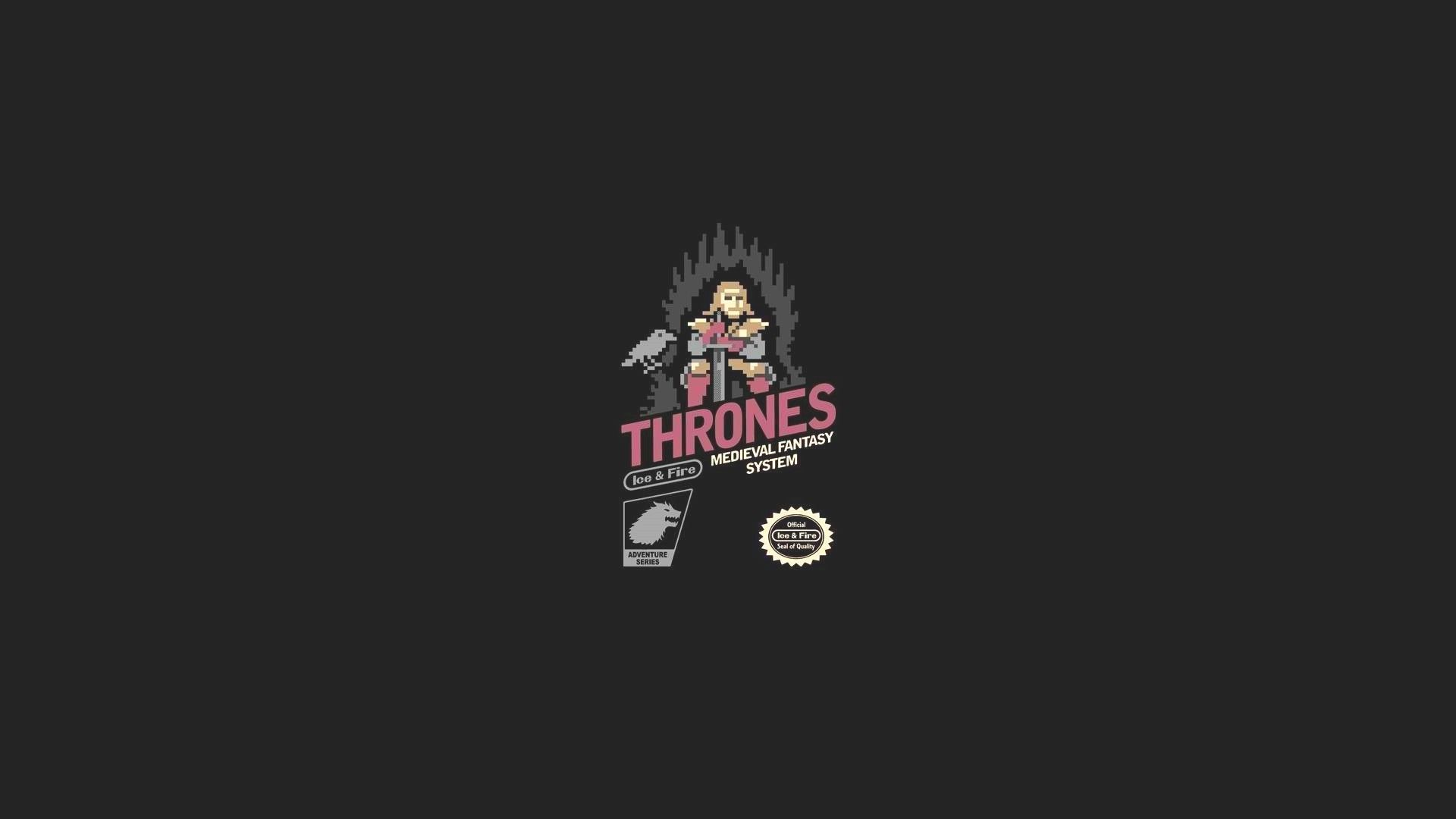 Game of Thrones art minimalist