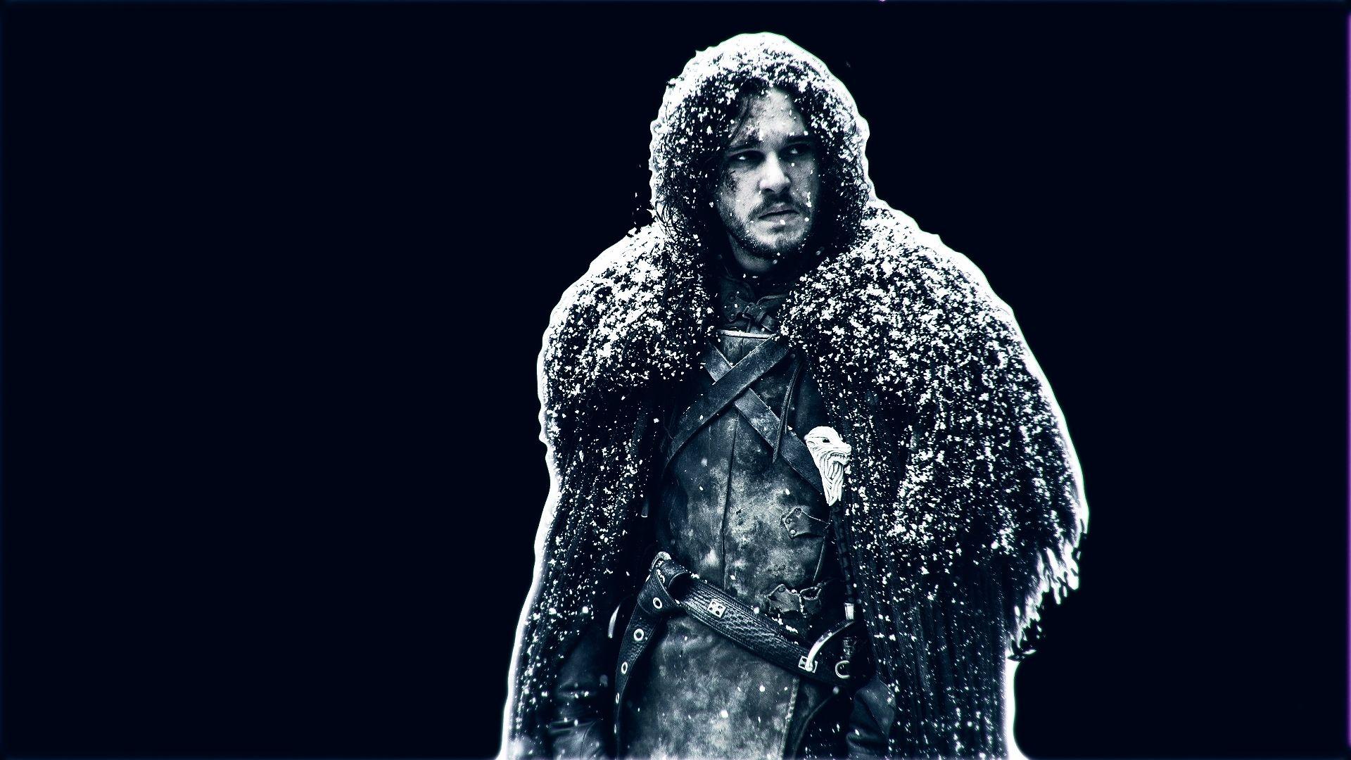 Jon Snow Game of Thrones Minimalist
