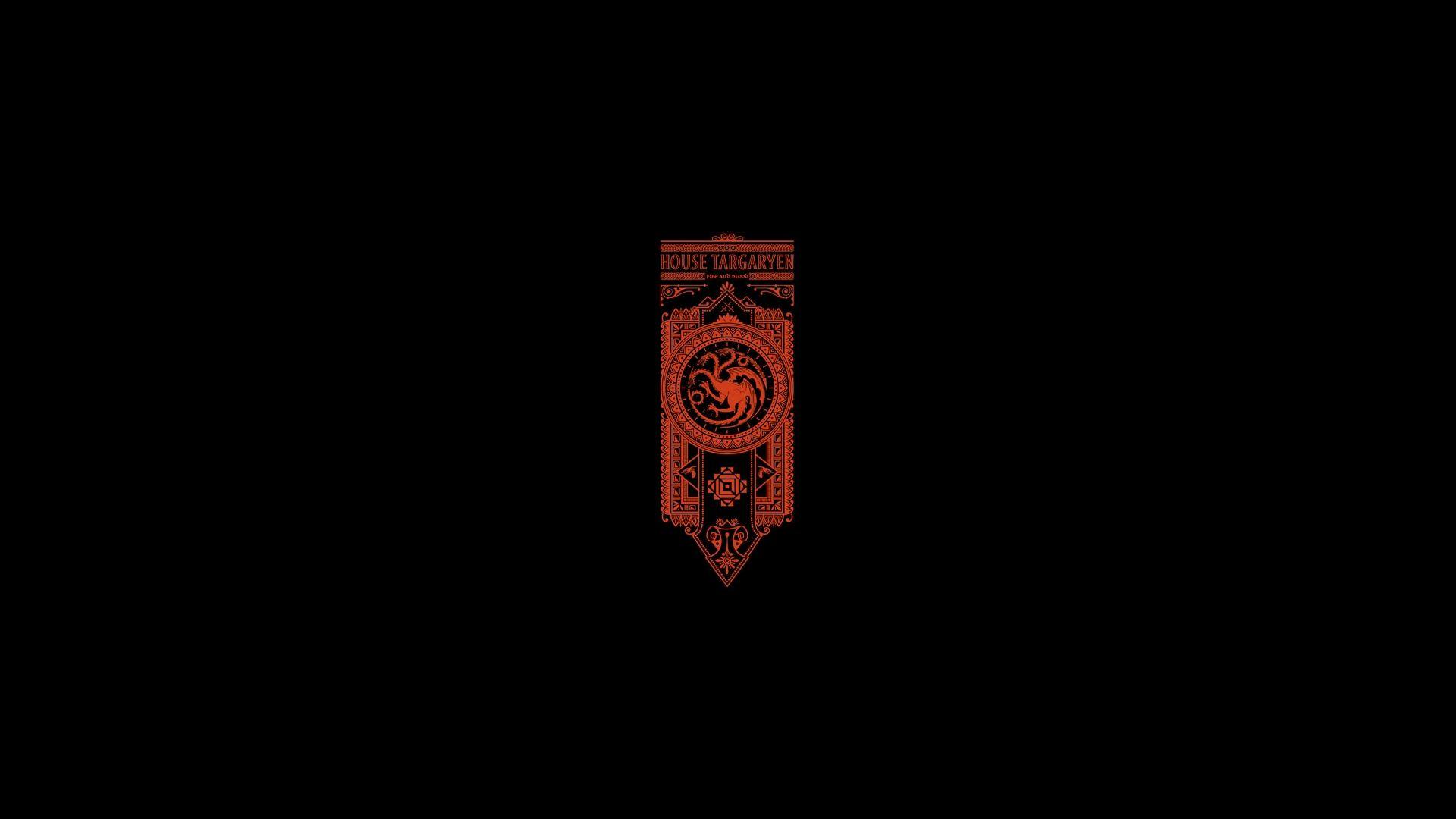 Game of Thrones Red Banner House Targaryen