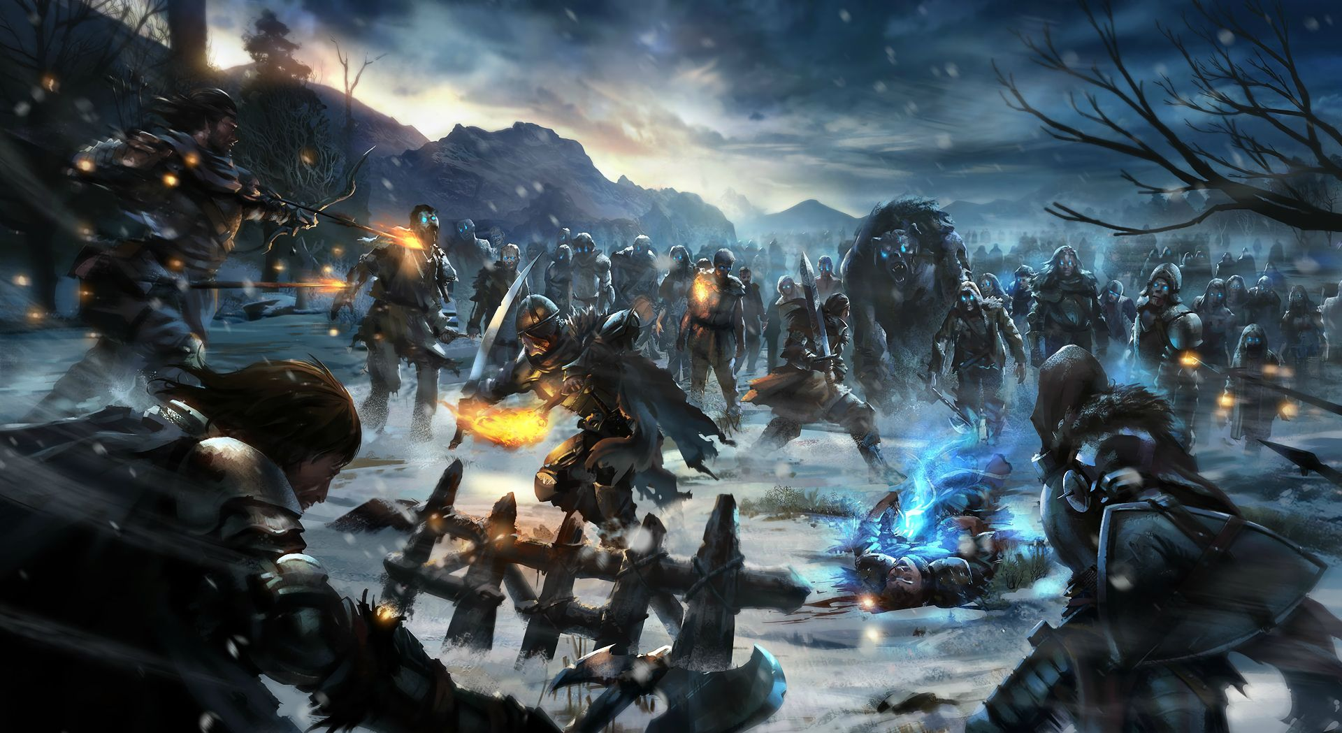 Game of Thrones art full hd wallpaper