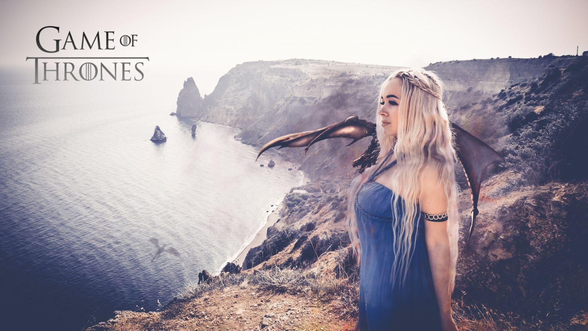 Game of Thrones Daenerys cosplay wallpaper