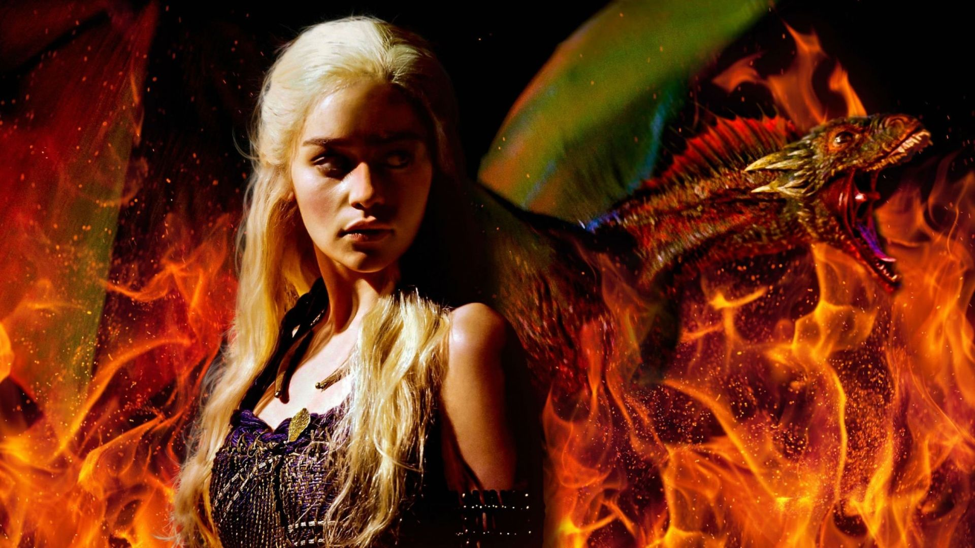 Game of Thrones Daenerys and fire