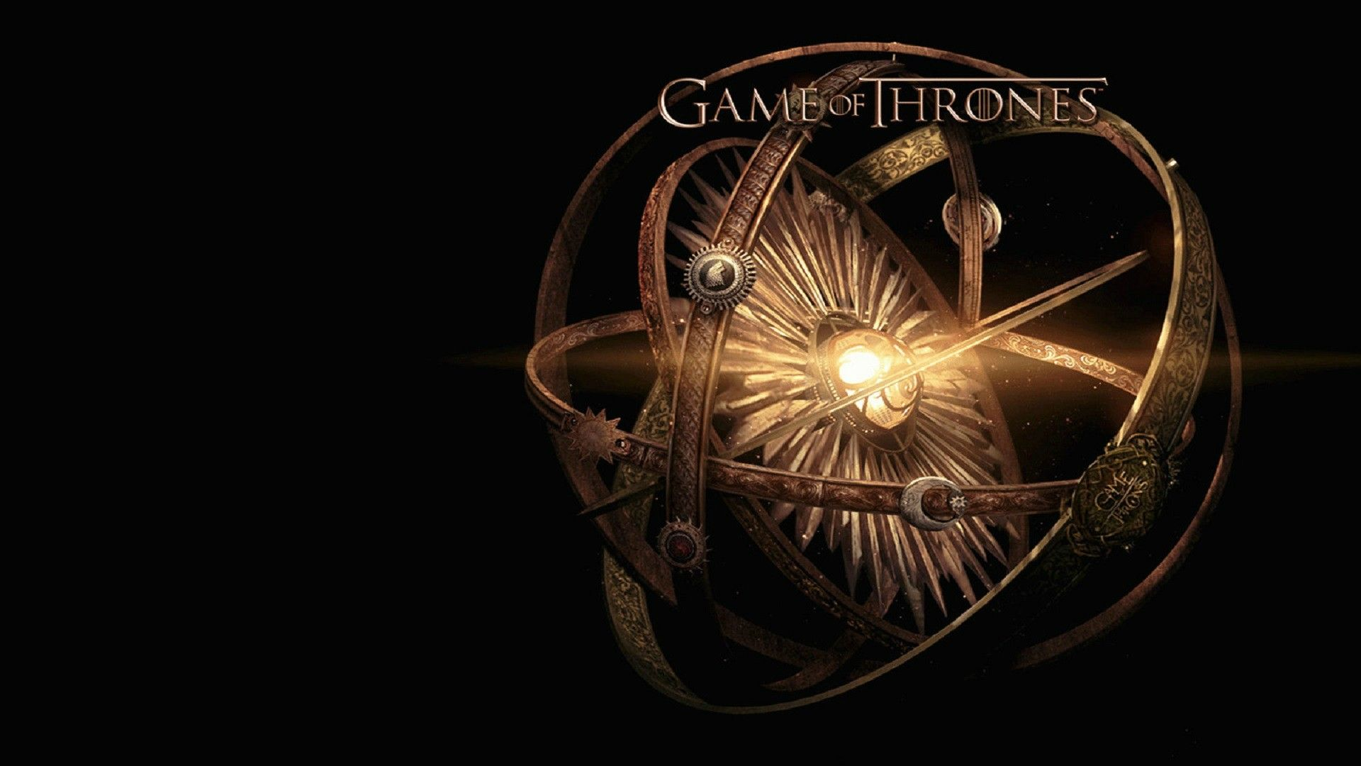 Game of Thrones logo orb