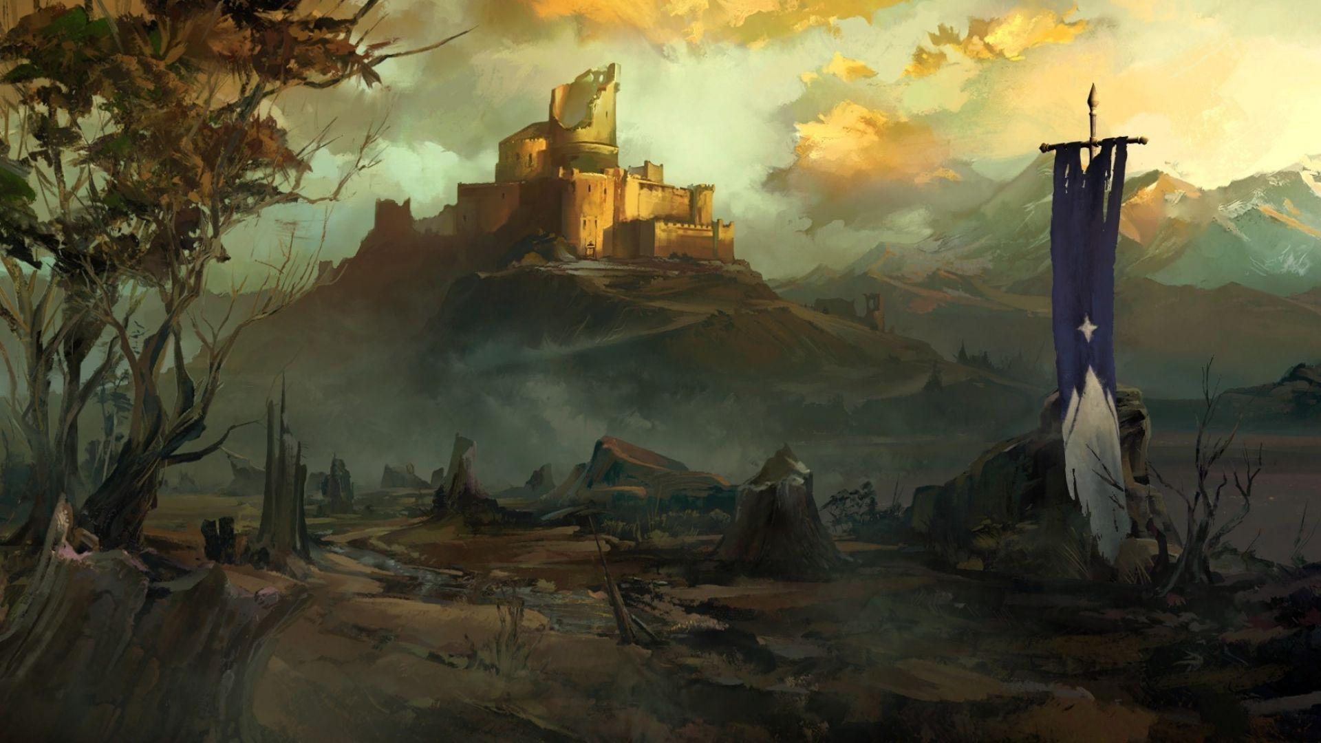 Game of Thrones art castle