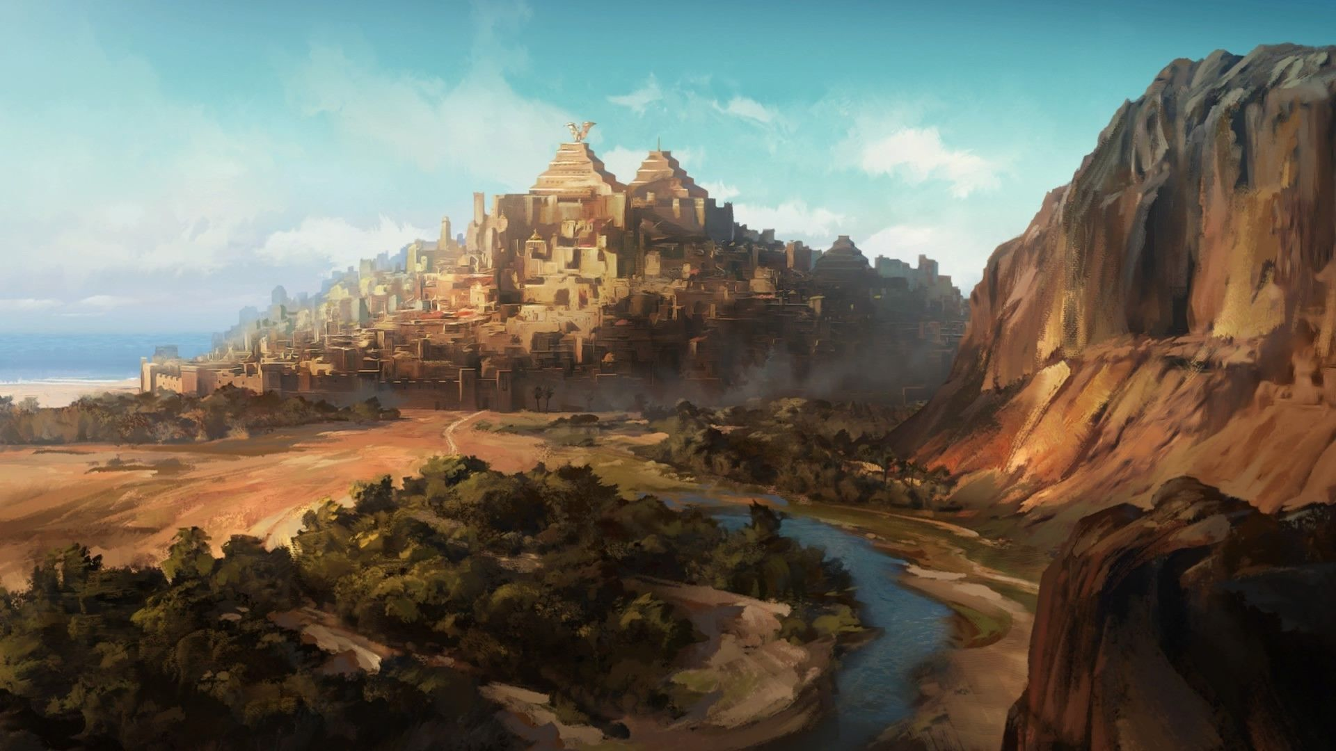 Game of Thrones Landscape Town