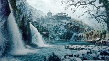 Game of Thrones landscape image castle
